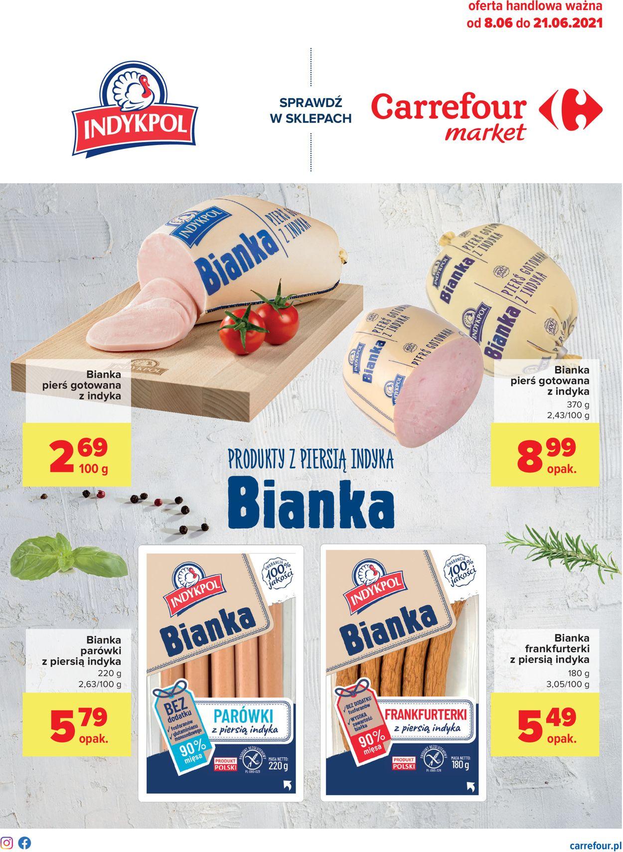 Gazetka promocyjna Carrefour Market - 08.06-21.06.2021