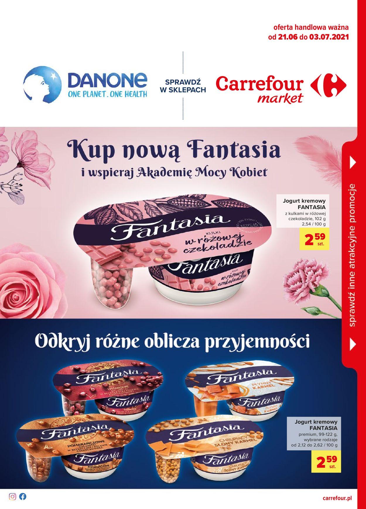Gazetka promocyjna Carrefour Market - 21.06-03.07.2021