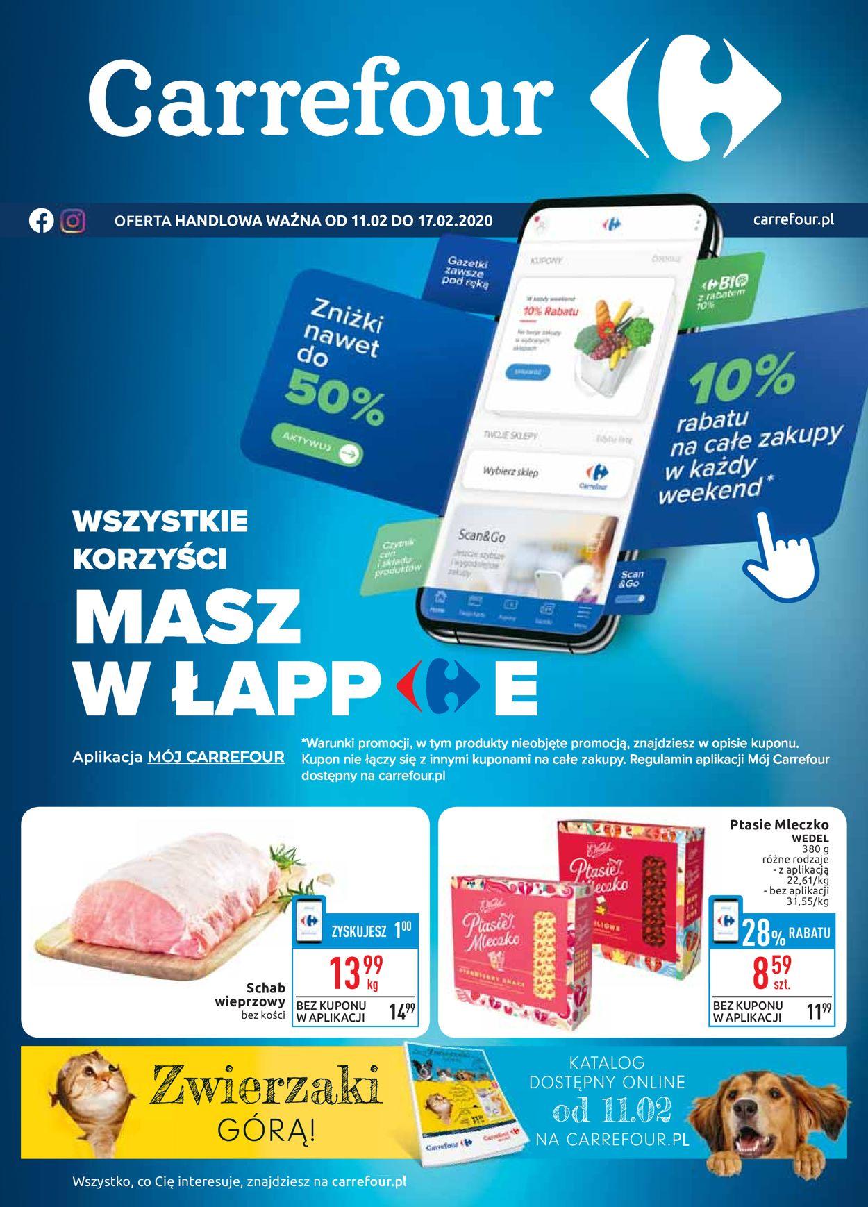 Gazetka promocyjna Carrefour - 11.02-17.02.2020