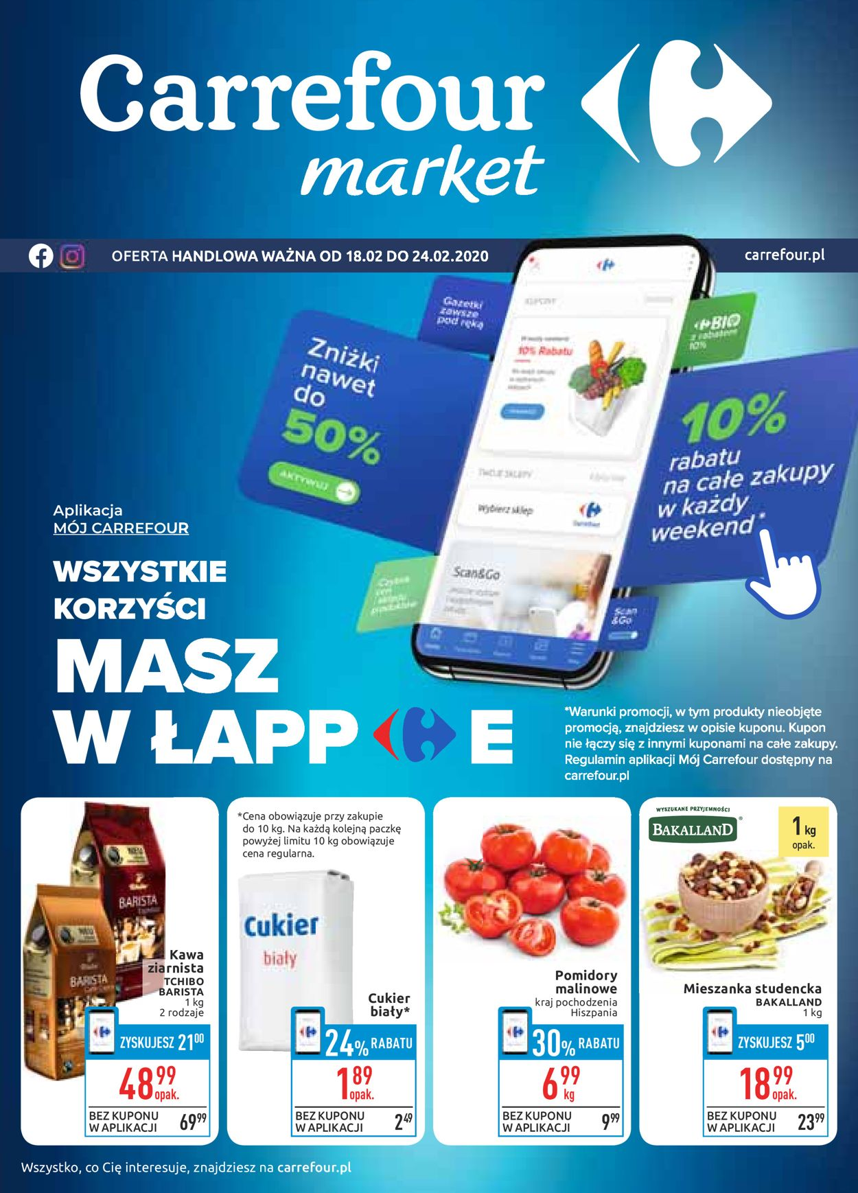 Gazetka promocyjna Carrefour - 18.02-24.02.2020