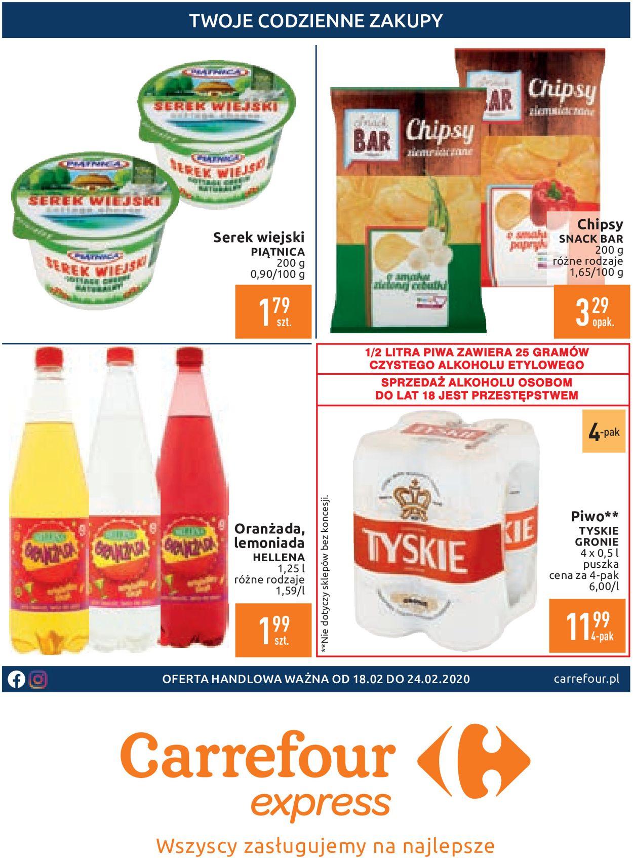 Gazetka promocyjna Carrefour - 18.02-24.02.2020 (Strona 2)