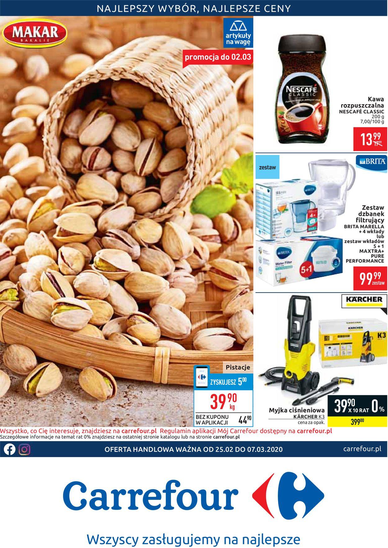 Gazetka promocyjna Carrefour - 25.02-07.03.2020