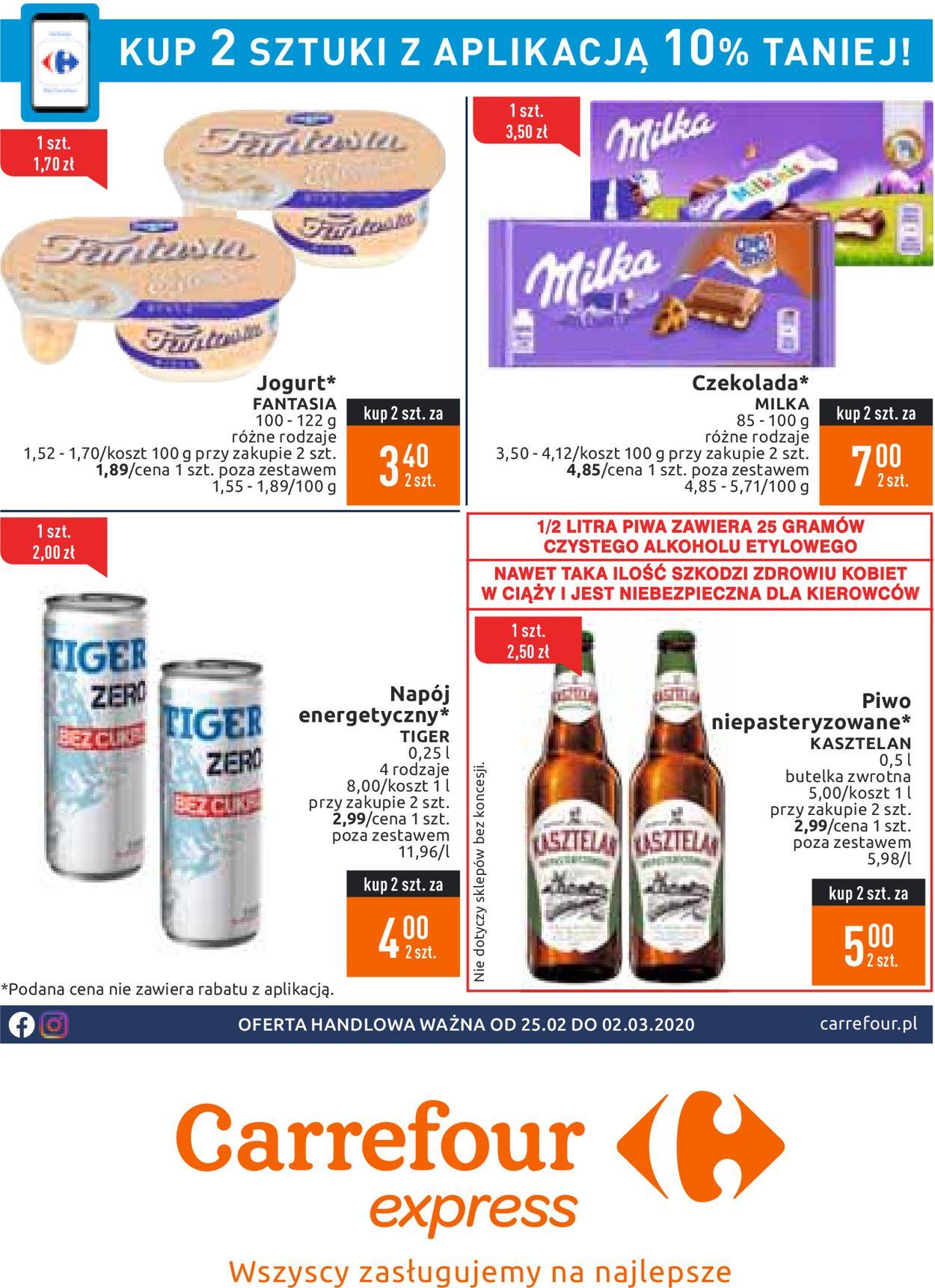 Gazetka promocyjna Carrefour - 25.02-02.03.2020