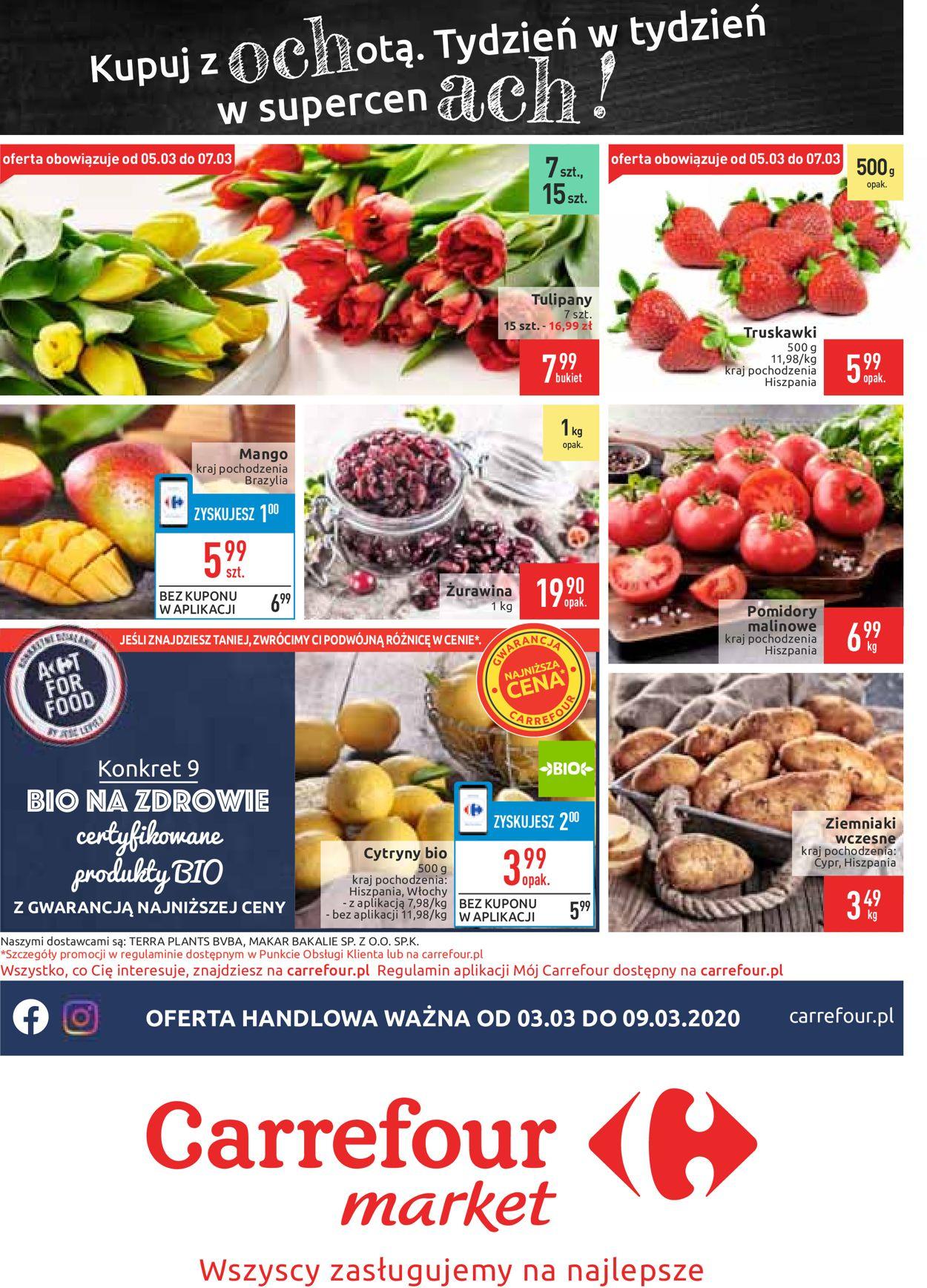 Gazetka promocyjna Carrefour - 03.03-09.03.2020