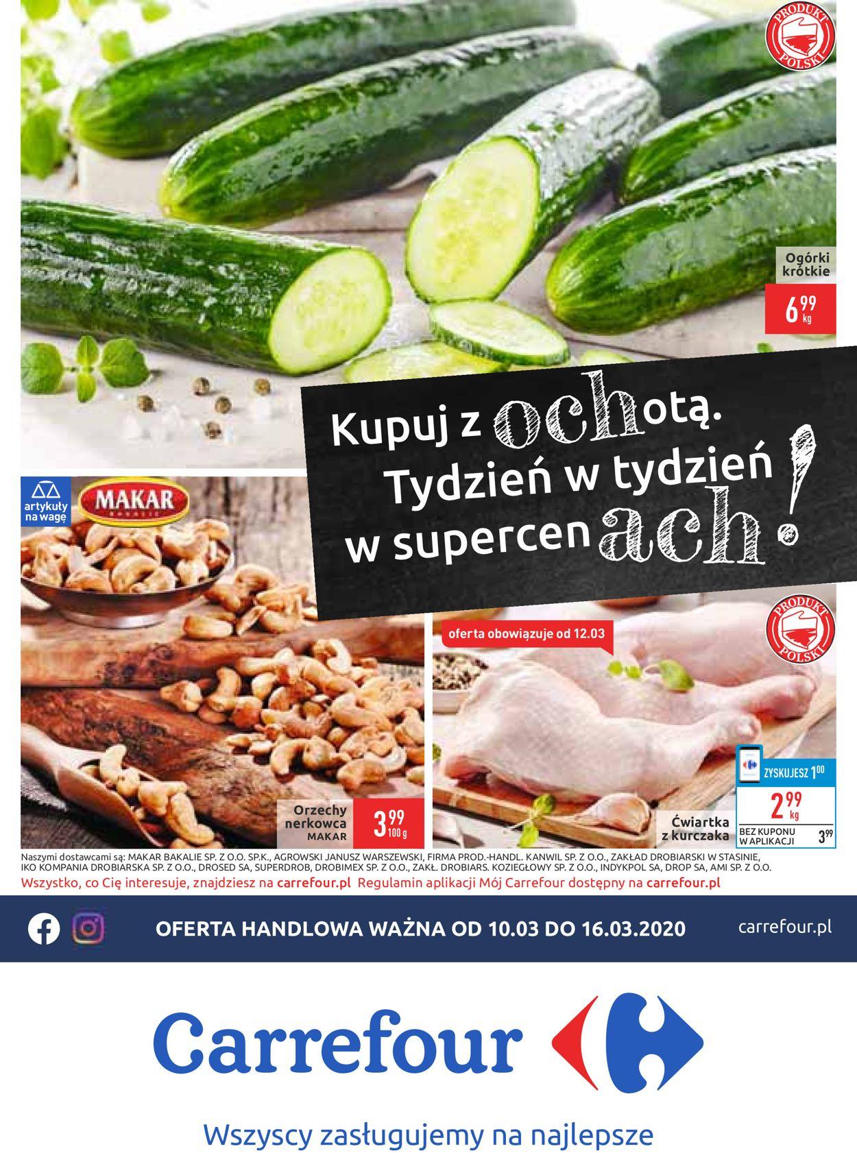 Gazetka promocyjna Carrefour - 10.03-16.03.2020