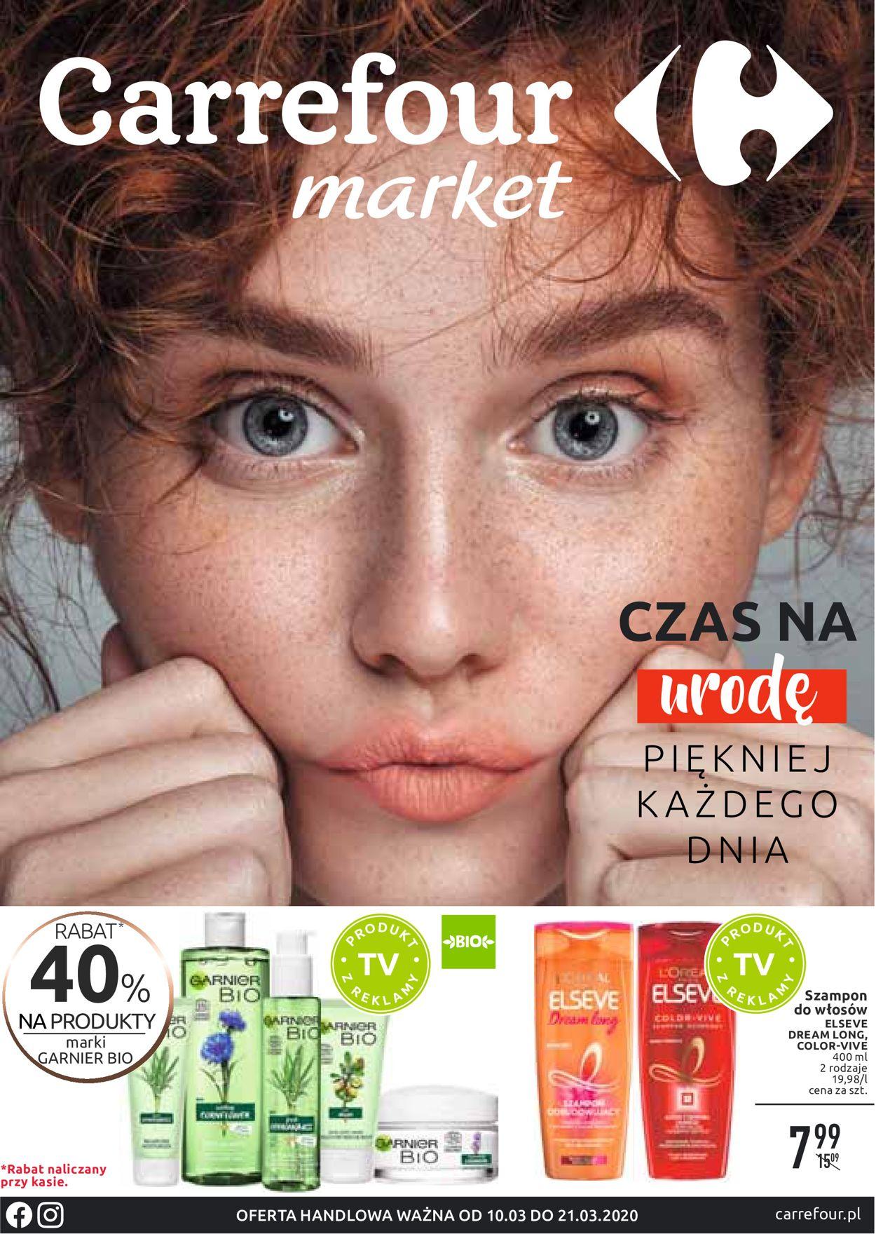 Gazetka promocyjna Carrefour - 10.03-21.03.2020