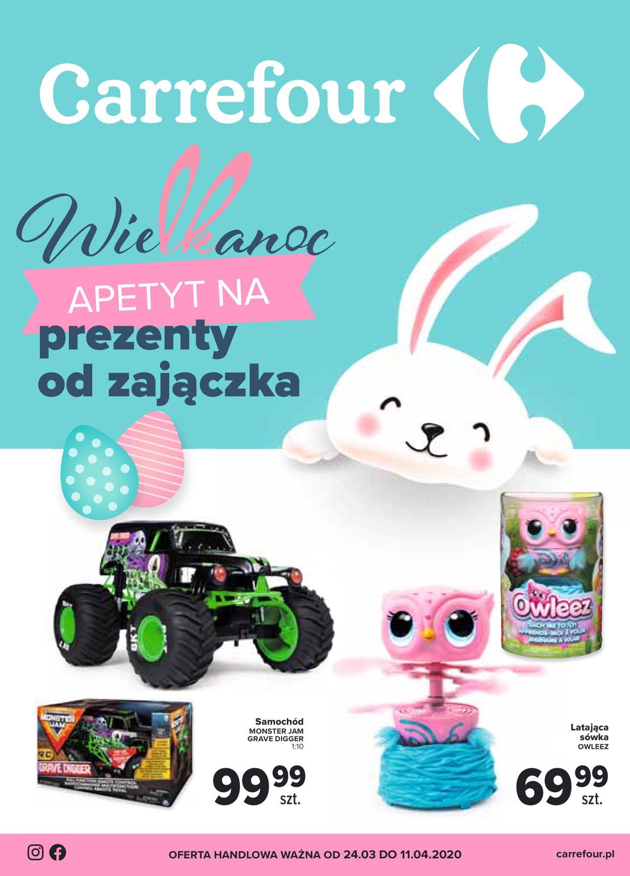 Gazetka promocyjna Carrefour - 24.03-11.04.2020