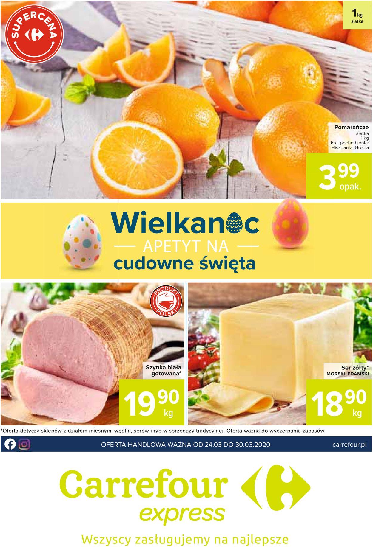 Gazetka promocyjna Carrefour - 24.03-30.03.2020