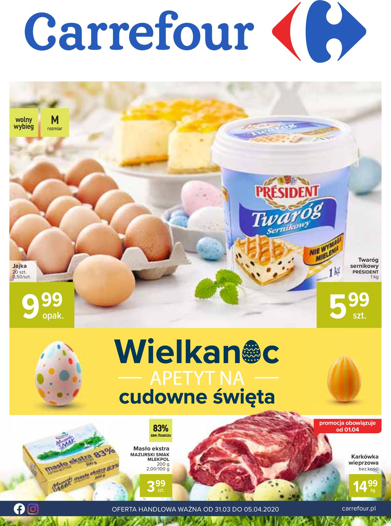 Gazetka promocyjna Carrefour - 31.03-05.04.2020