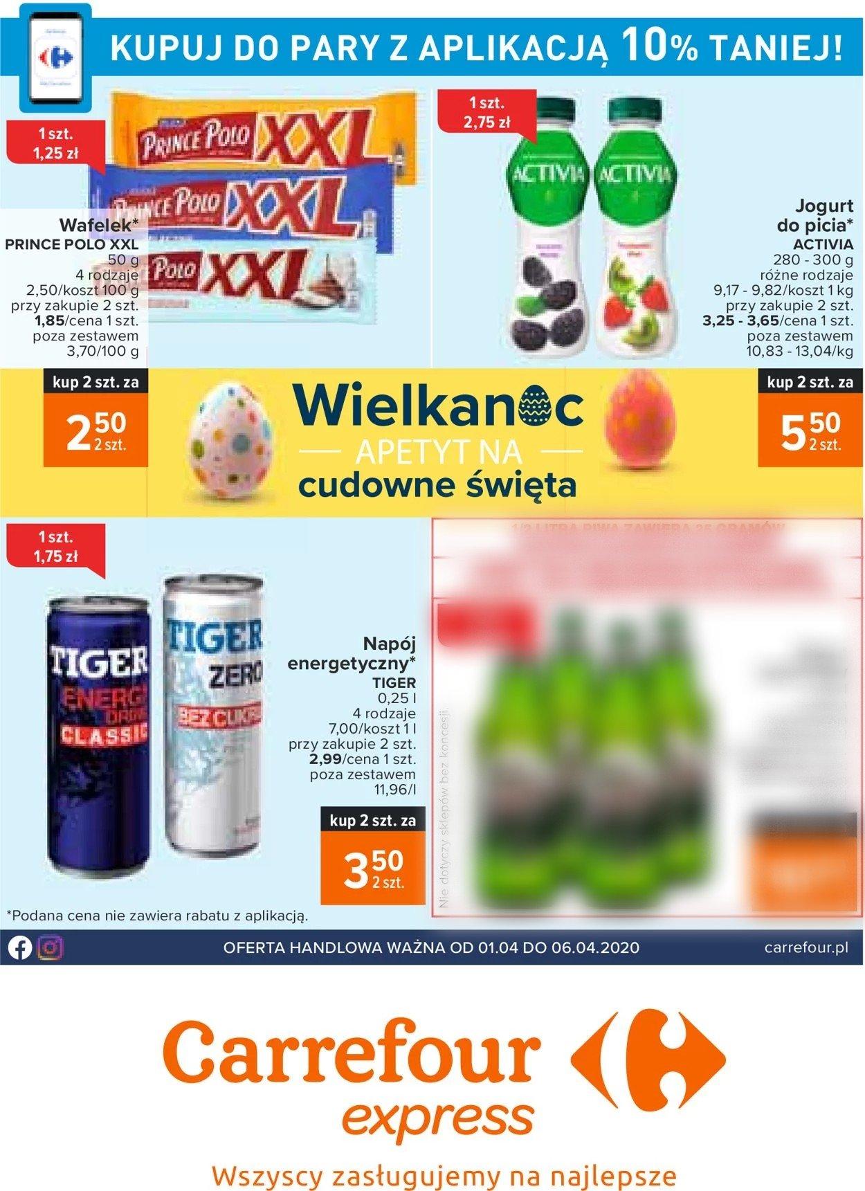 Gazetka promocyjna Carrefour - 01.04-06.04.2020