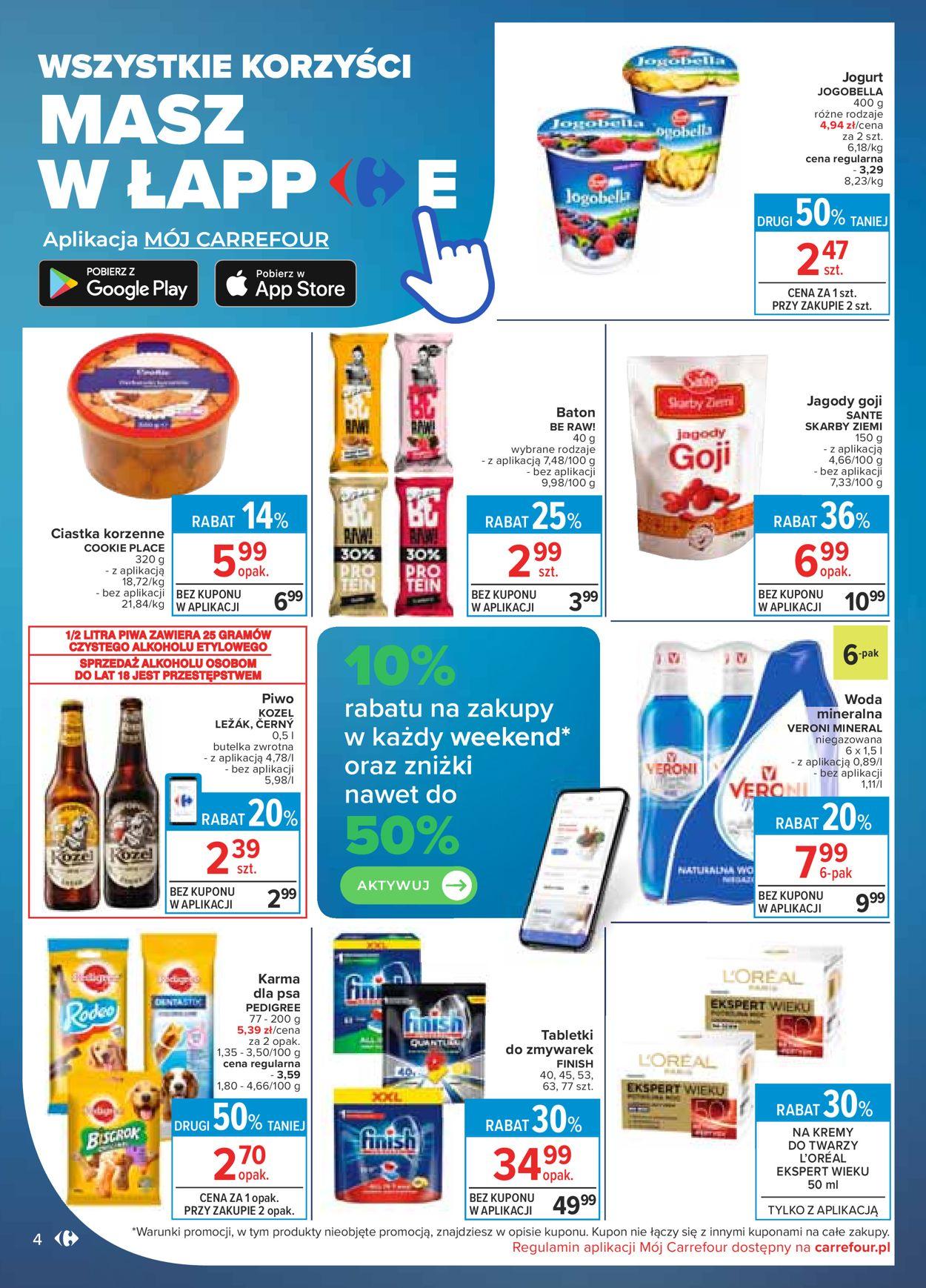 Gazetka promocyjna Carrefour - 15.04-26.04.2020 (Strona 4)