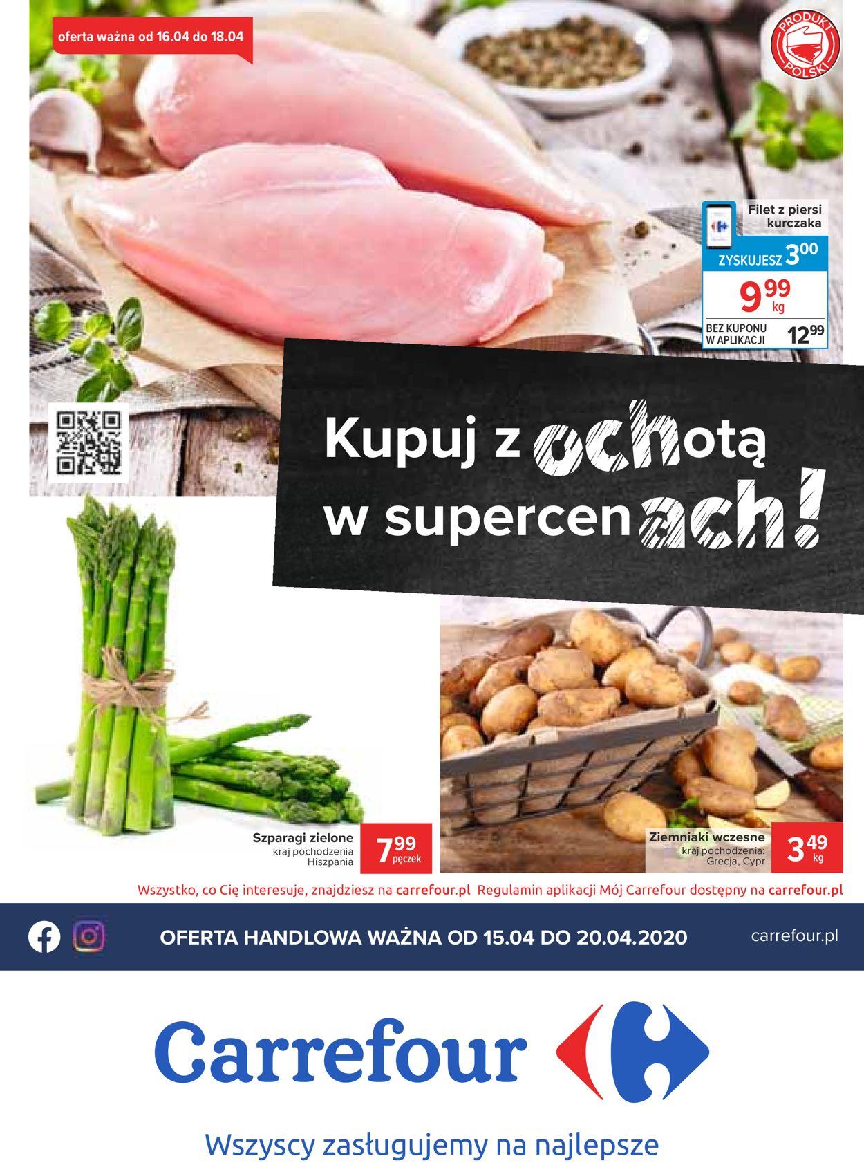 Gazetka promocyjna Carrefour - 15.04-20.04.2020
