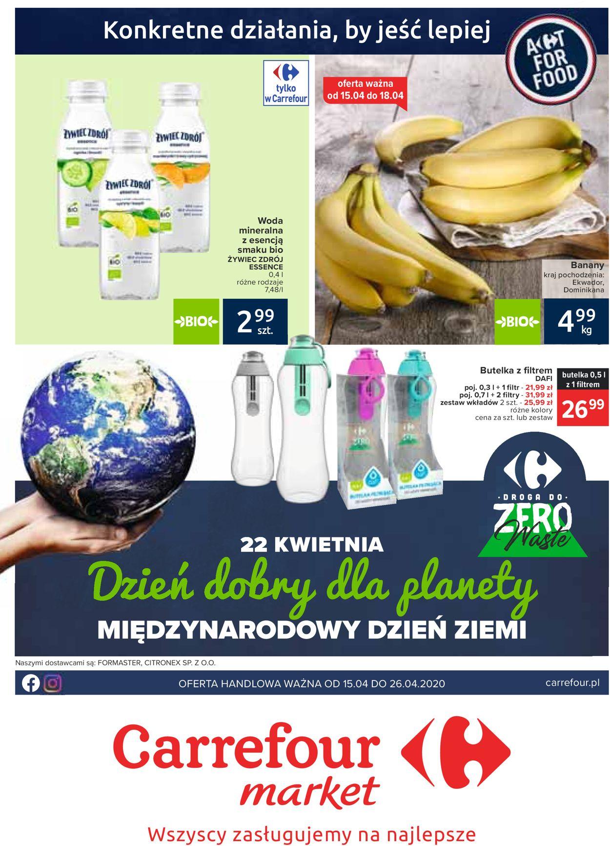 Gazetka promocyjna Carrefour - 15.04-26.04.2020