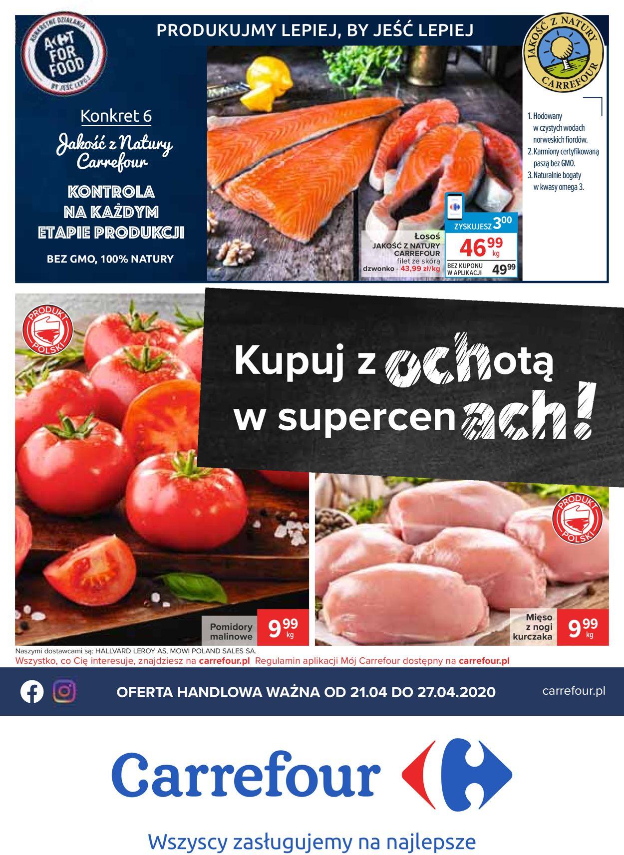 Gazetka promocyjna Carrefour - 21.04-27.04.2020