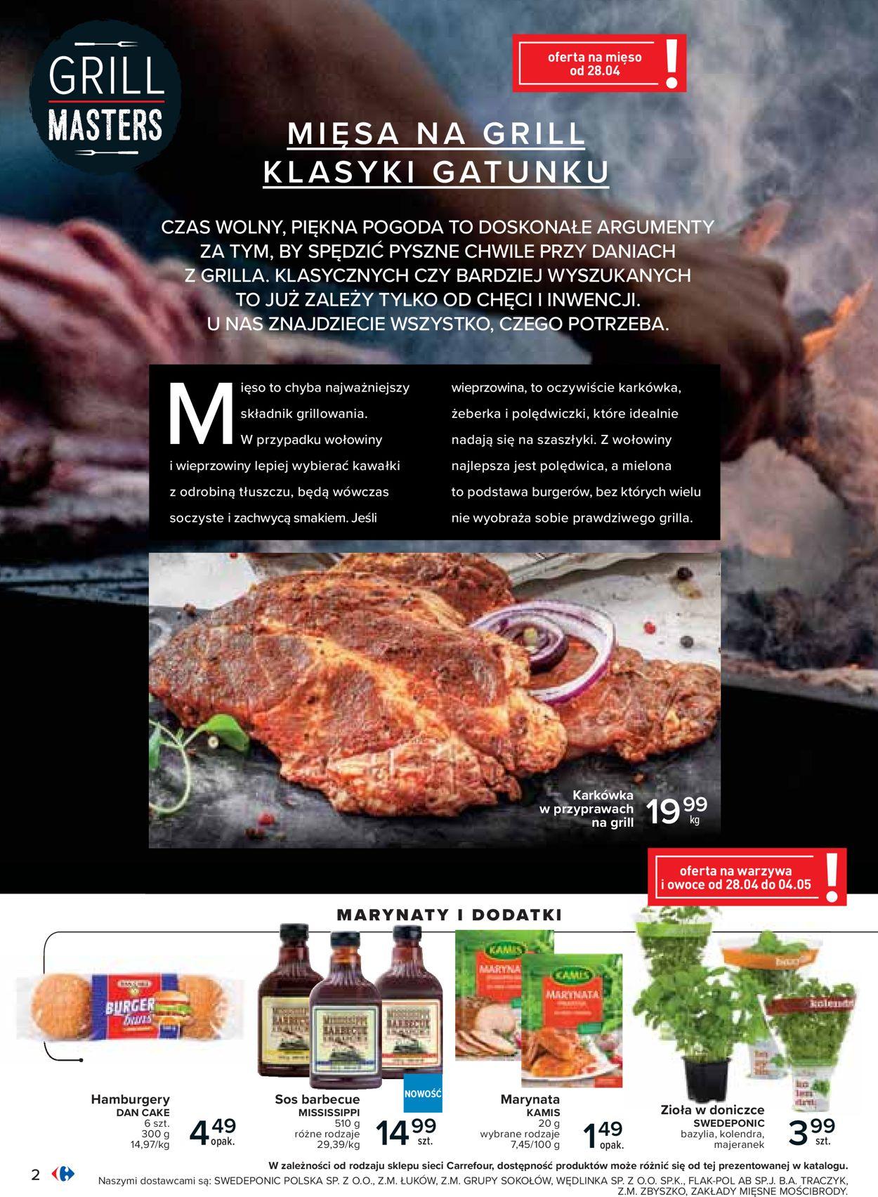 Gazetka promocyjna Carrefour - 24.04-09.05.2020 (Strona 2)