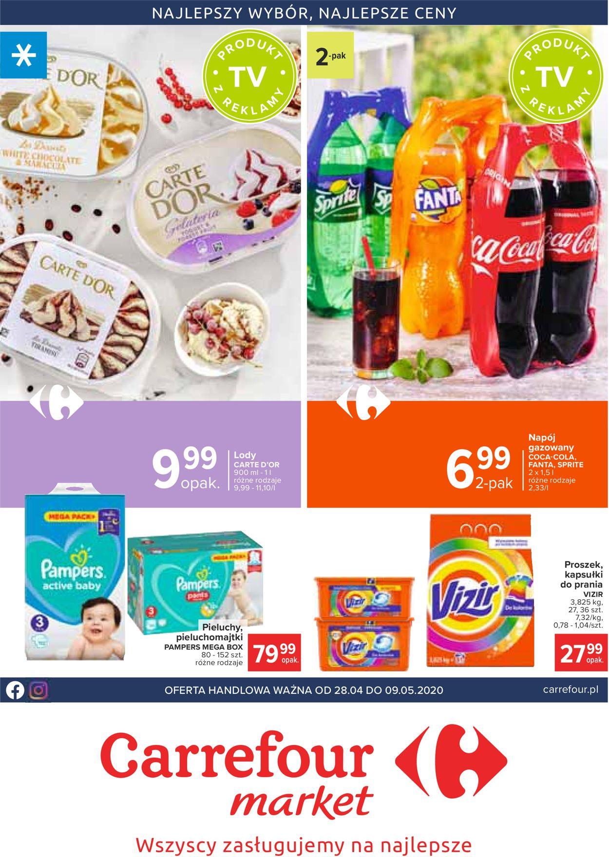 Gazetka promocyjna Carrefour - 28.04-09.05.2020