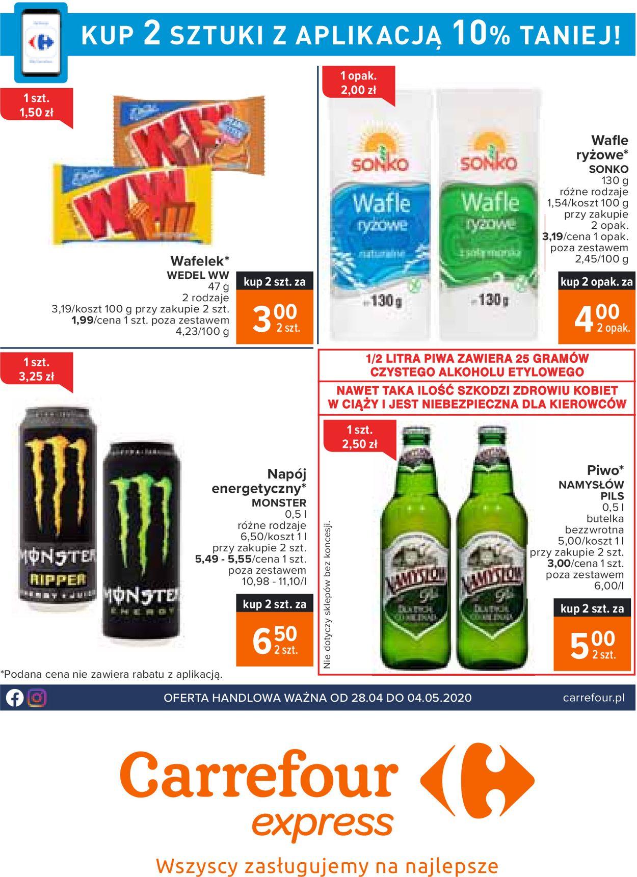 Gazetka promocyjna Carrefour - 28.04-04.05.2020
