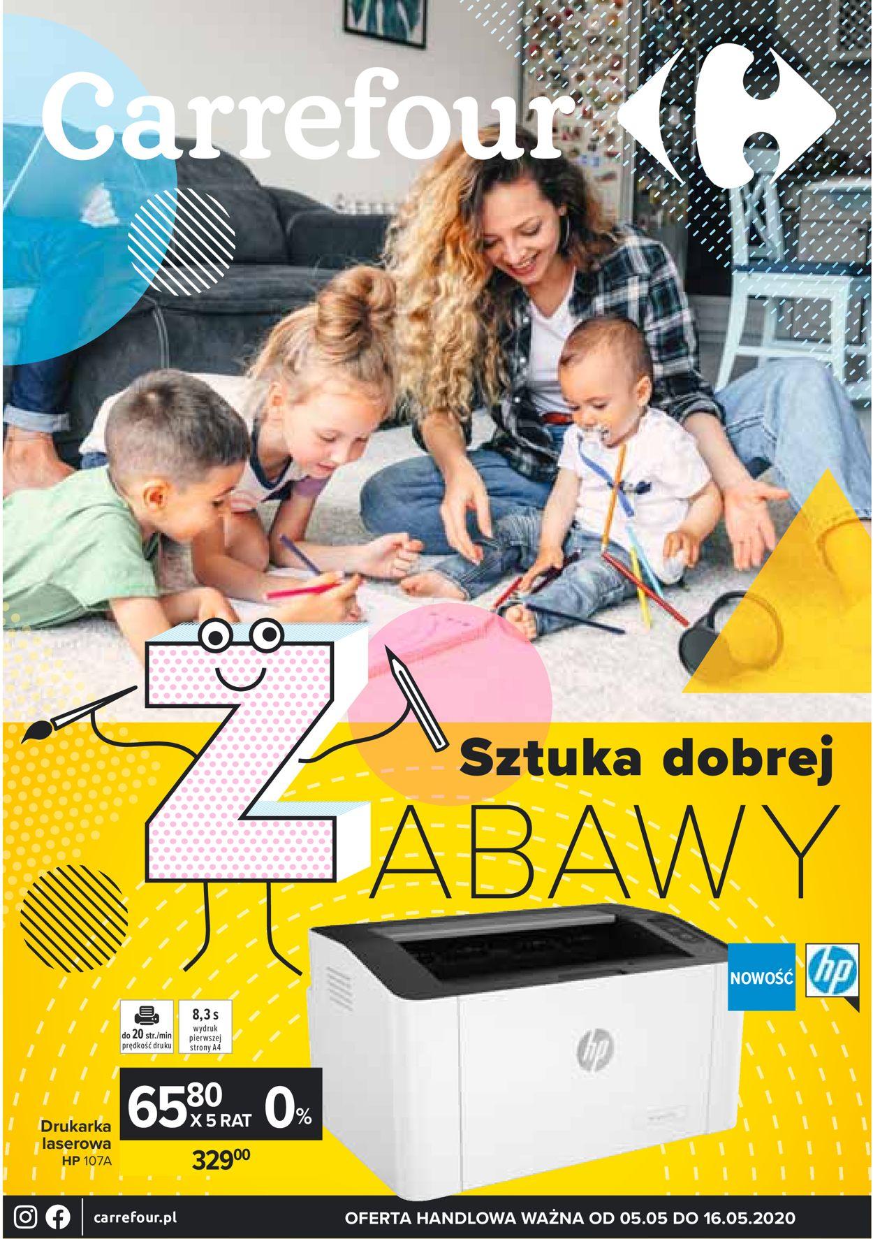 Gazetka promocyjna Carrefour - 05.05-16.05.2020