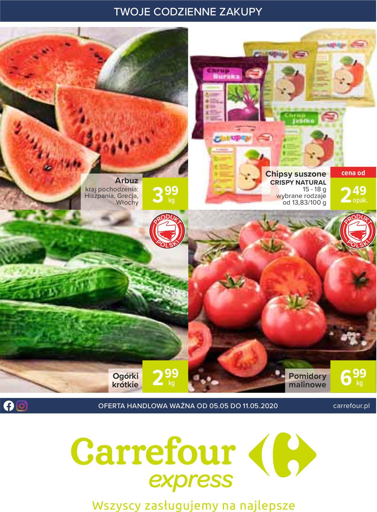 Gazetka promocyjna Carrefour - 05.05-11.05.2020