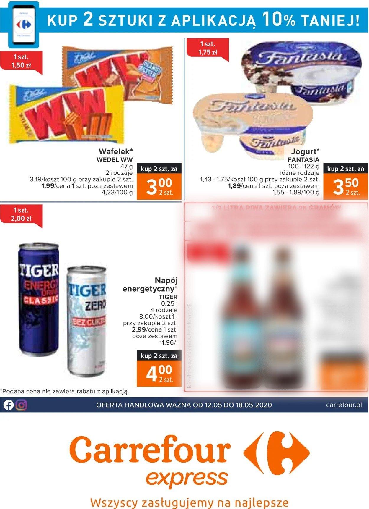 Gazetka promocyjna Carrefour - 12.05-18.05.2020