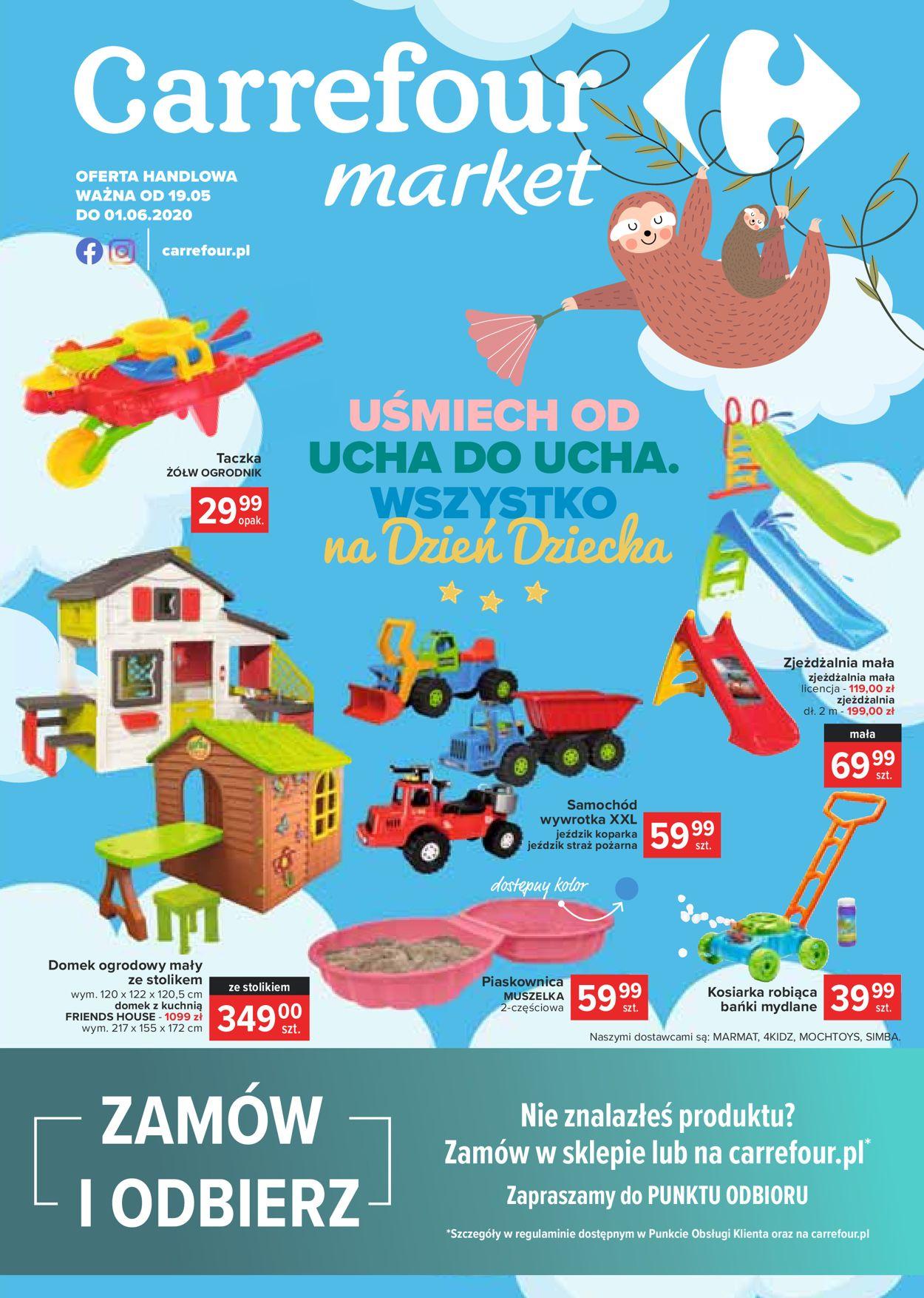 Gazetka promocyjna Carrefour - 19.05-01.06.2020