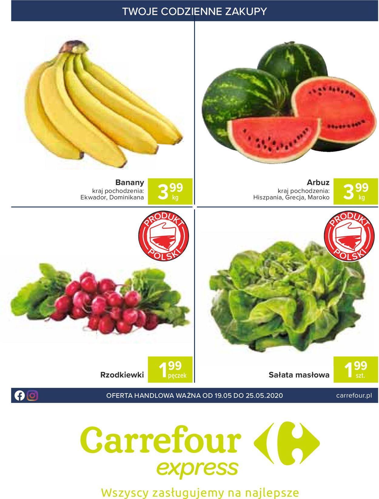 Gazetka promocyjna Carrefour - 19.05-25.05.2020