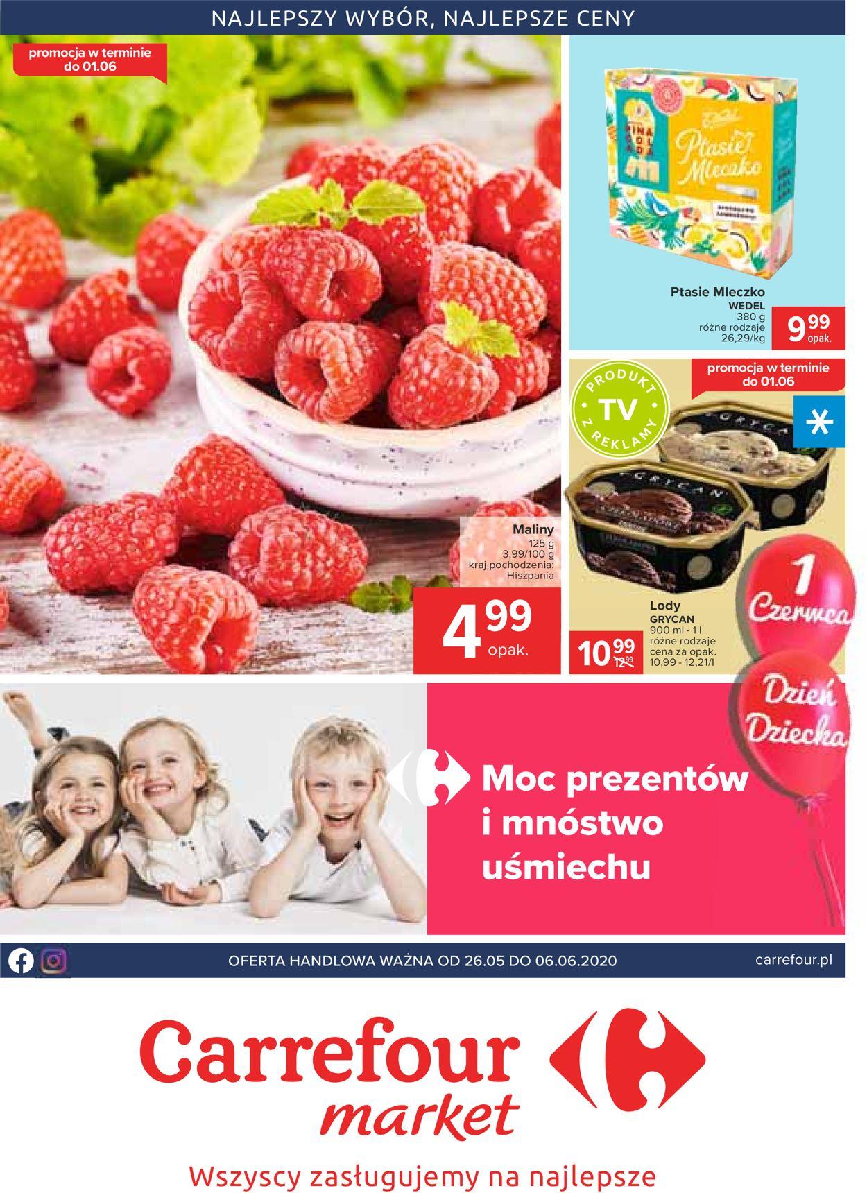 Gazetka promocyjna Carrefour - 26.05-06.06.2020