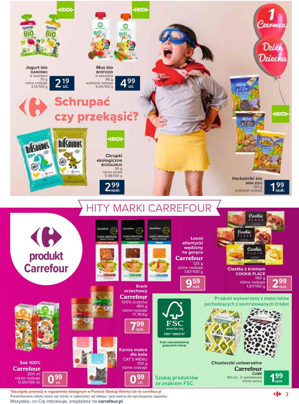 Gazetka promocyjna Carrefour - 26.05-06.06.2020 (Strona 3)