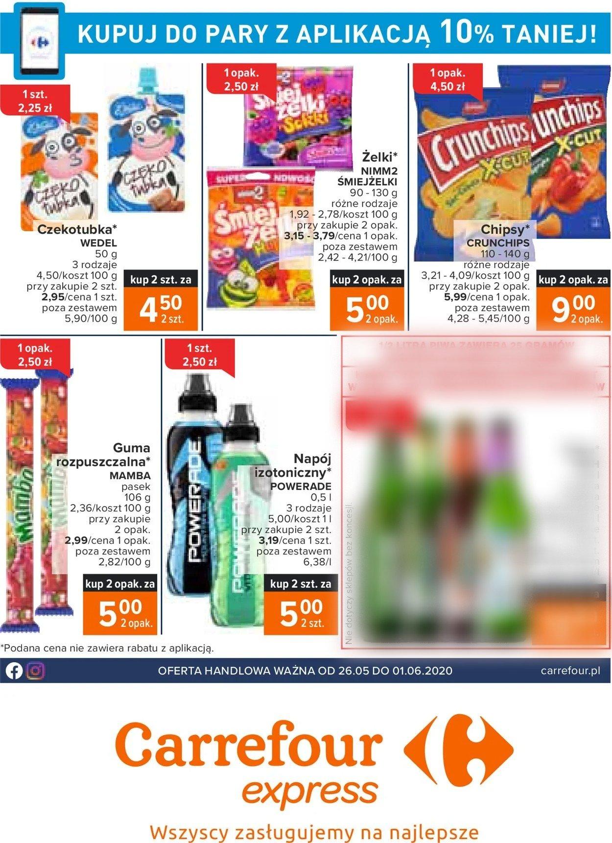 Gazetka promocyjna Carrefour - 26.05-01.06.2020
