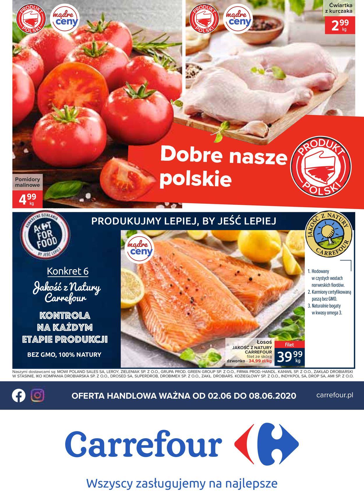 Gazetka promocyjna Carrefour - 02.06-08.06.2020