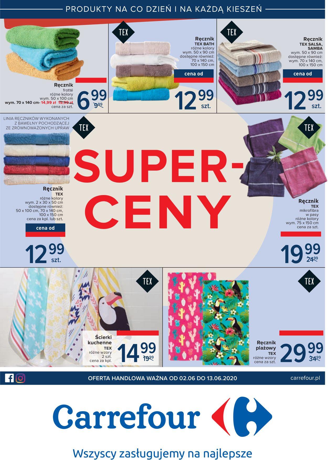 Gazetka promocyjna Carrefour - 02.06-13.06.2020