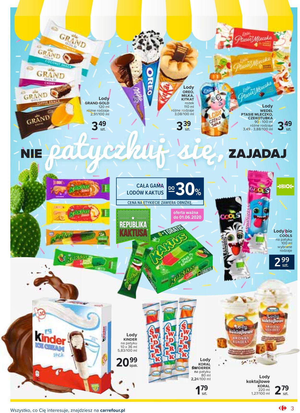Gazetka promocyjna Carrefour - 26.05-30.06.2020 (Strona 3)