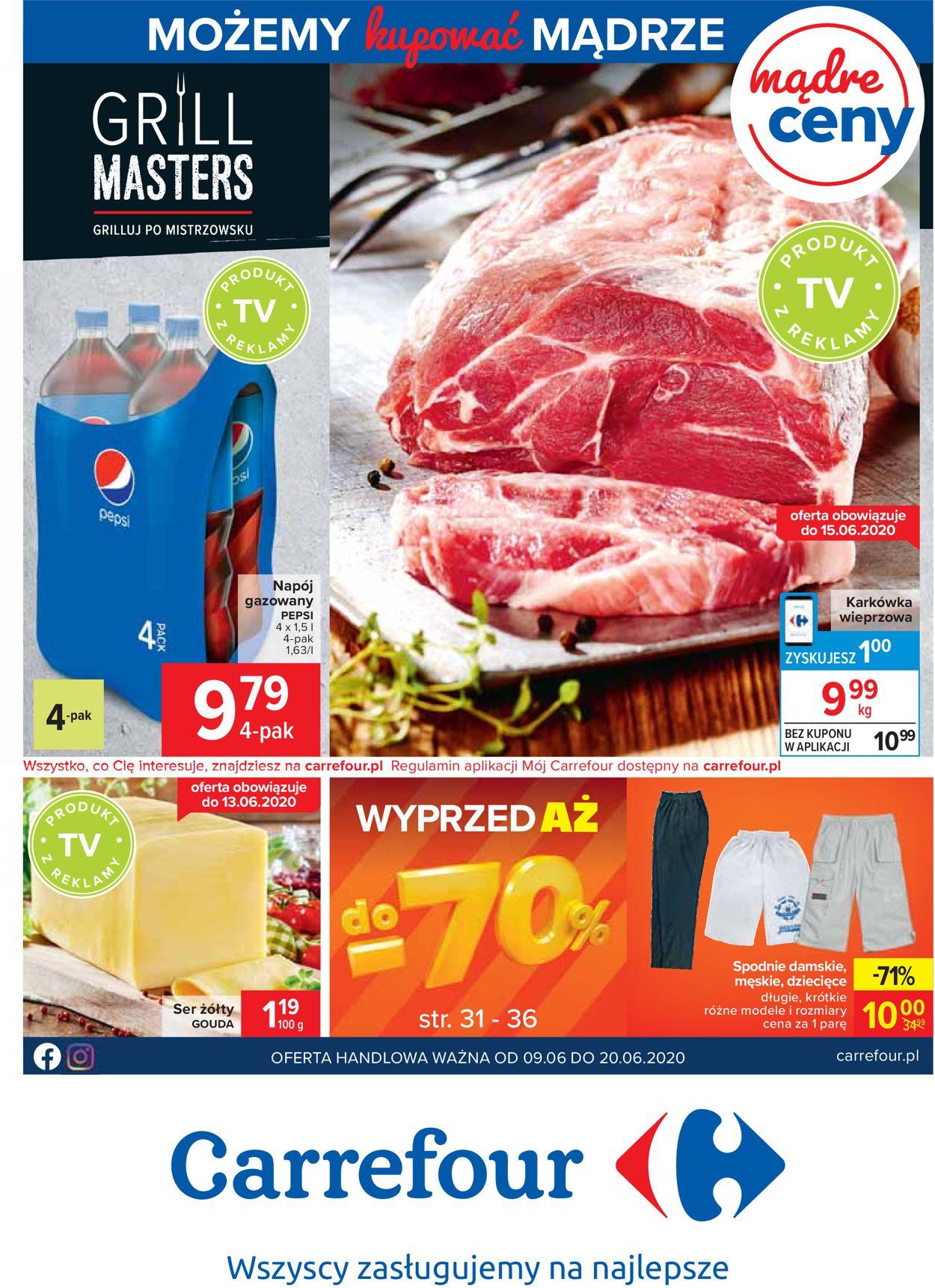 Gazetka promocyjna Carrefour - 09.06-20.06.2020