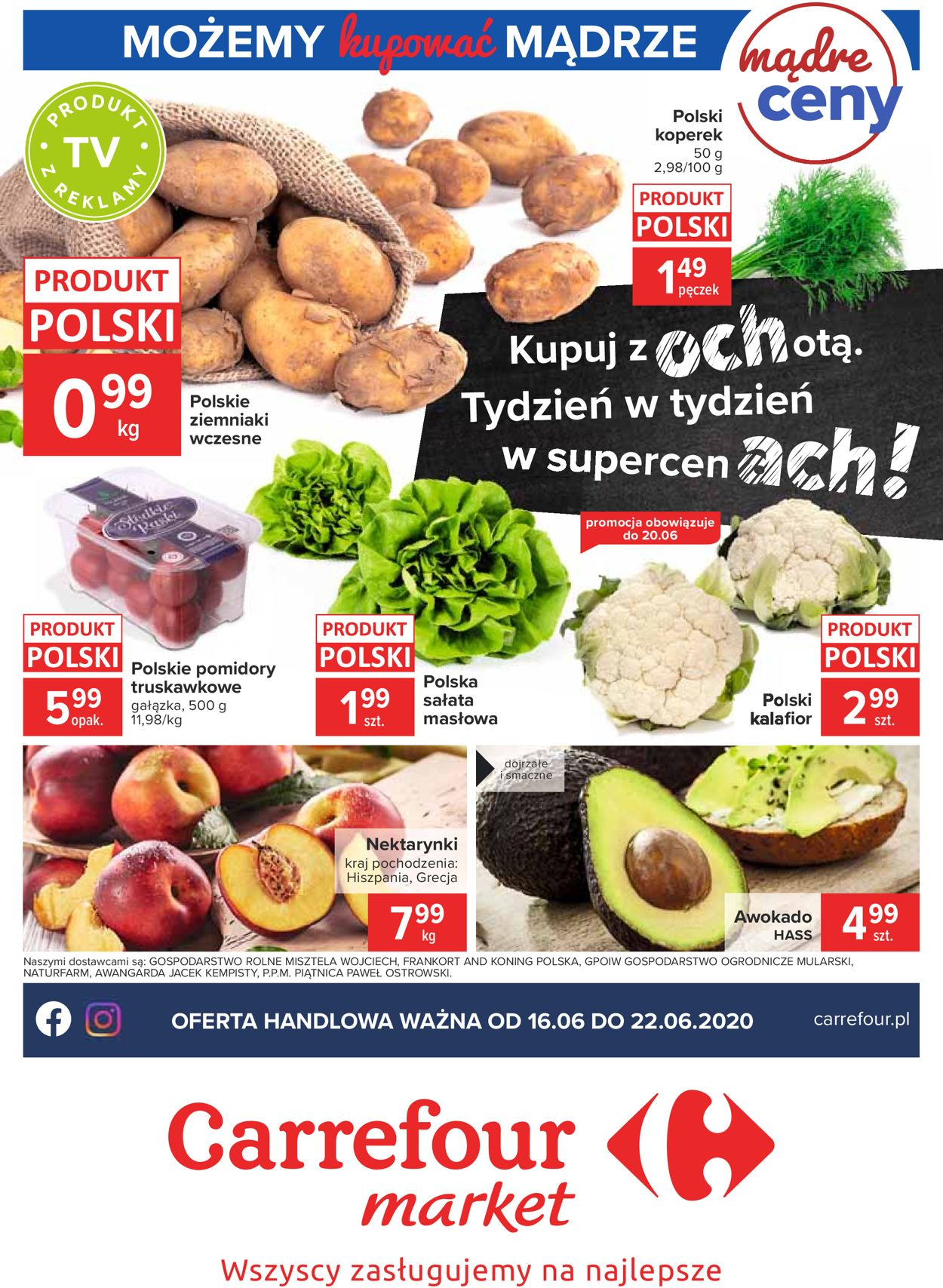 Gazetka promocyjna Carrefour - 16.06-22.06.2020