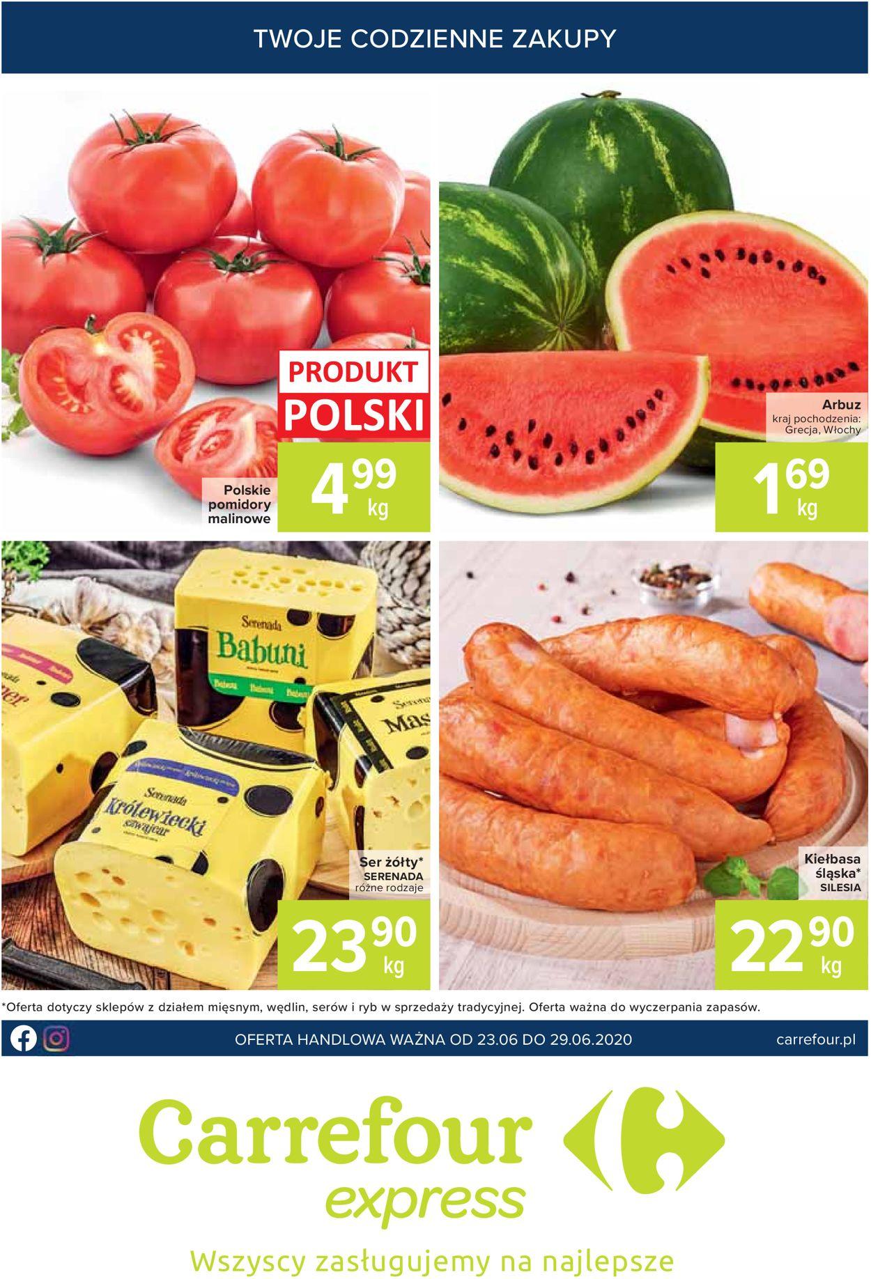 Gazetka promocyjna Carrefour - 23.06-29.06.2020