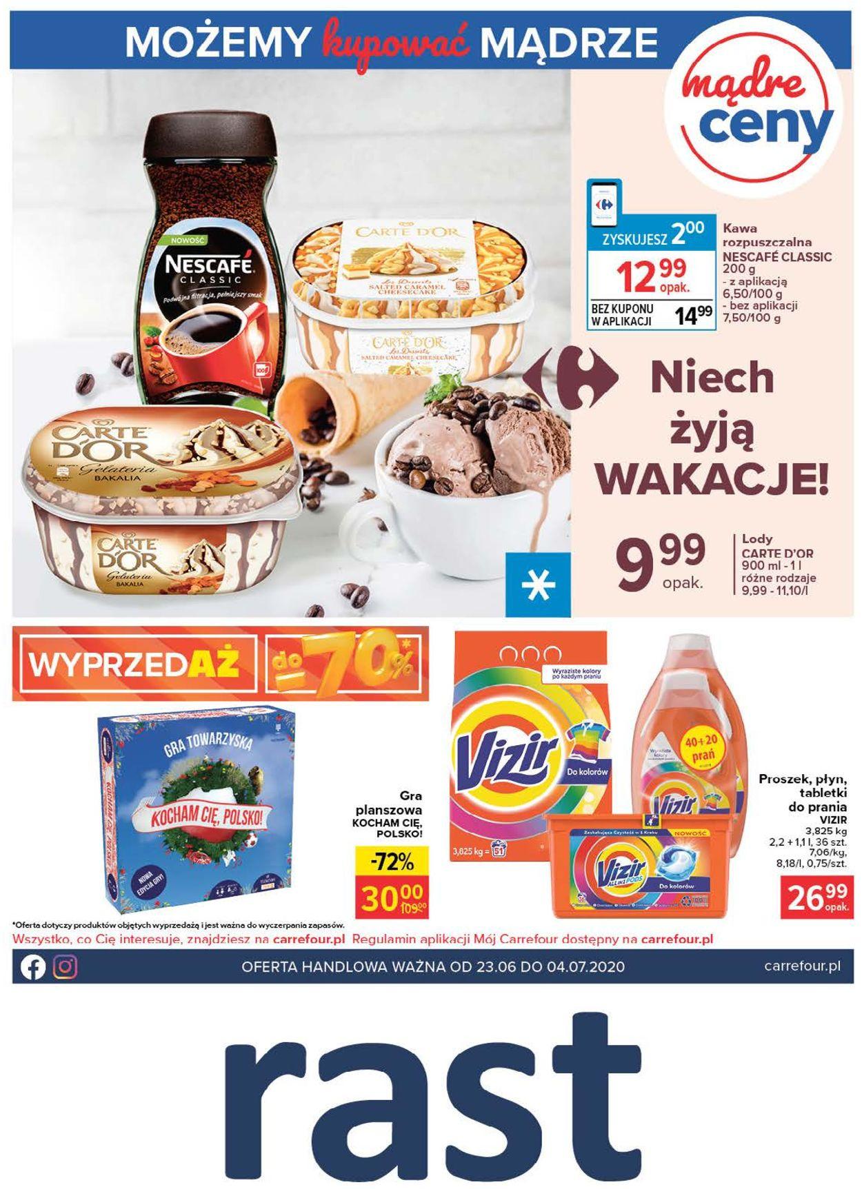 Gazetka promocyjna Carrefour - 23.06-04.07.2020