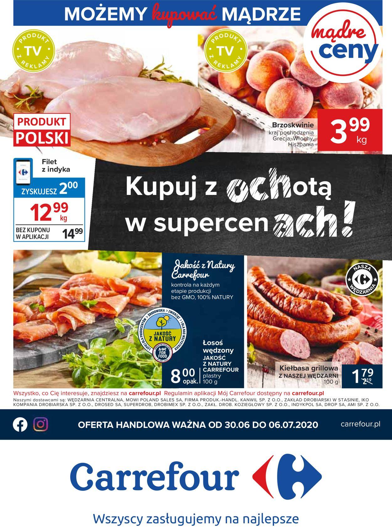 Gazetka promocyjna Carrefour - 30.06-06.07.2020