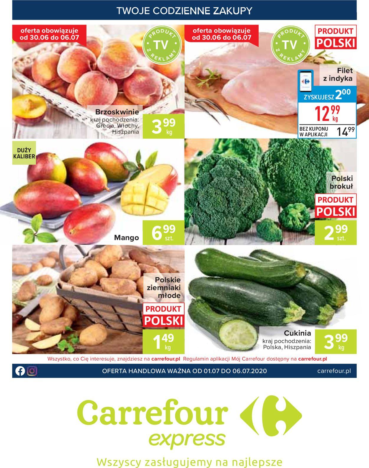 Gazetka promocyjna Carrefour - 01.07-06.07.2020
