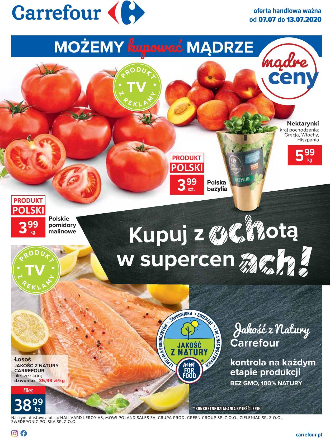 Gazetka promocyjna Carrefour - 07.07-13.07.2020