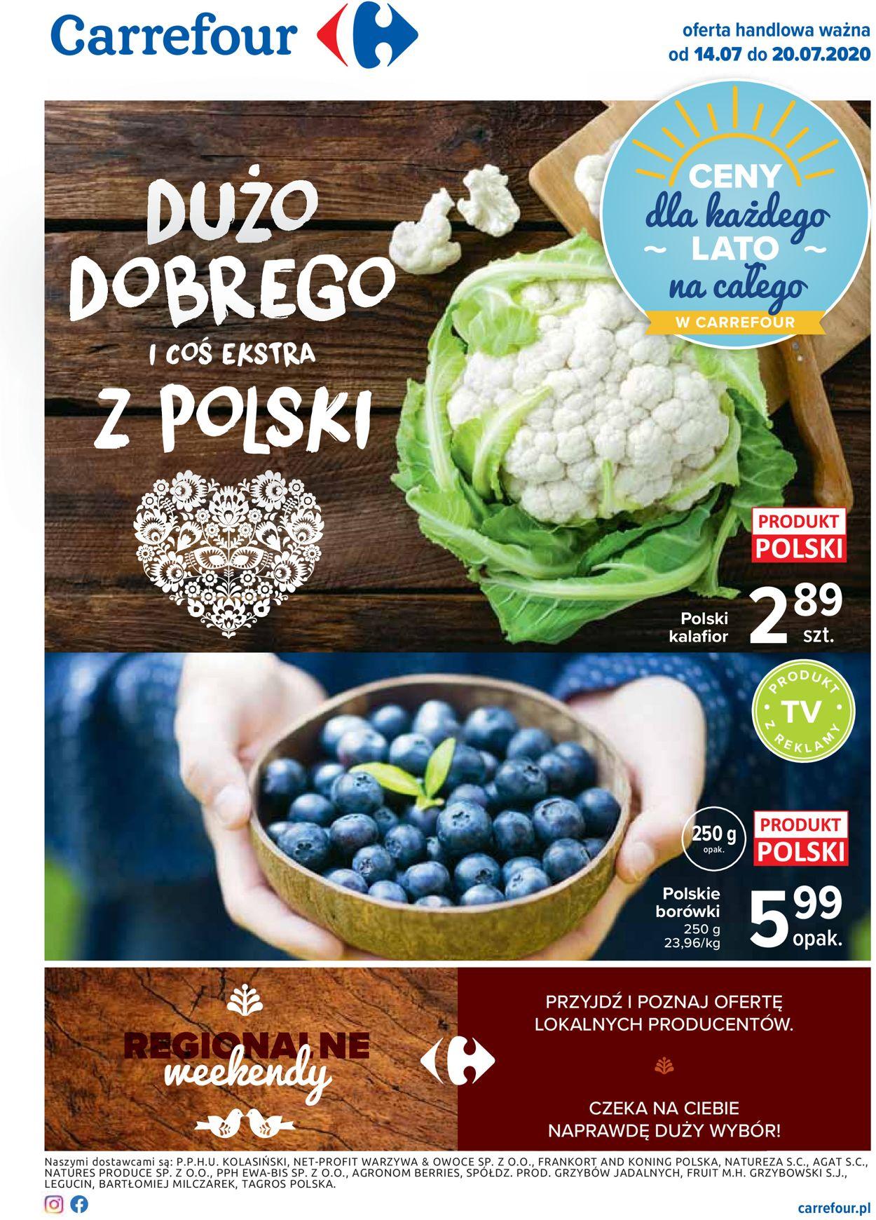 Gazetka promocyjna Carrefour - 14.07-20.07.2020
