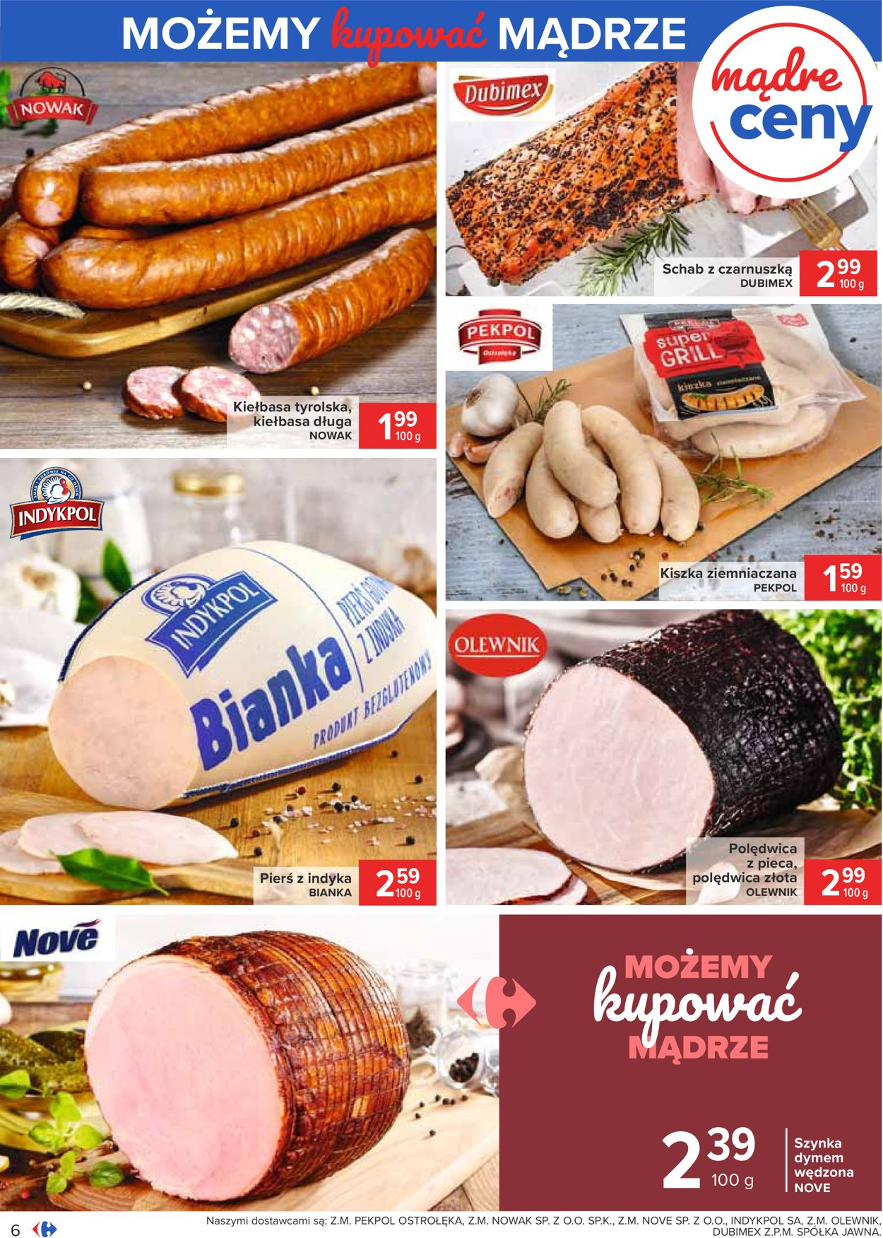 Gazetka promocyjna Carrefour - 21.07-01.08.2020 (Strona 6)