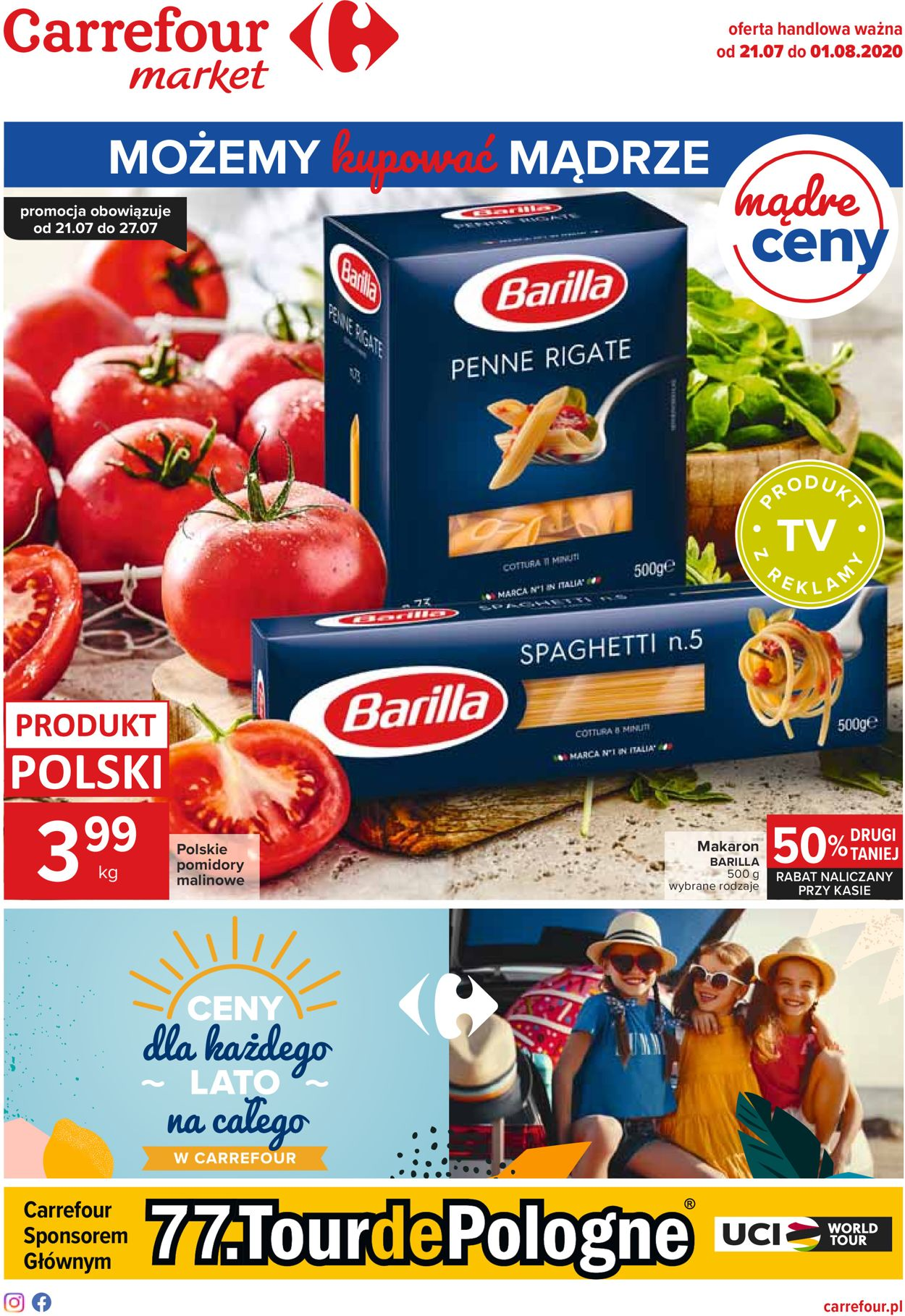 Gazetka promocyjna Carrefour - 21.07-01.08.2020