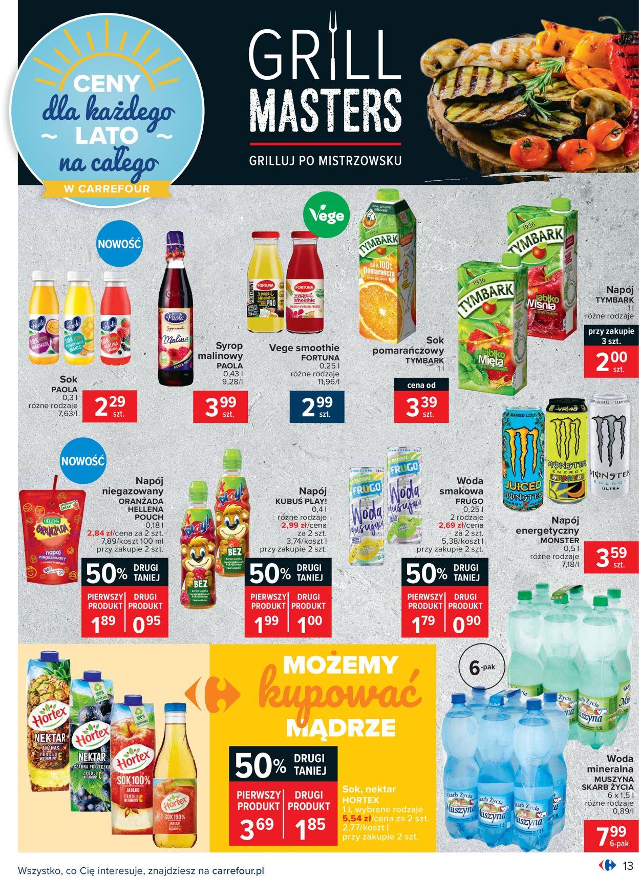 Gazetka promocyjna Carrefour - 04.08-14.08.2020 (Strona 13)