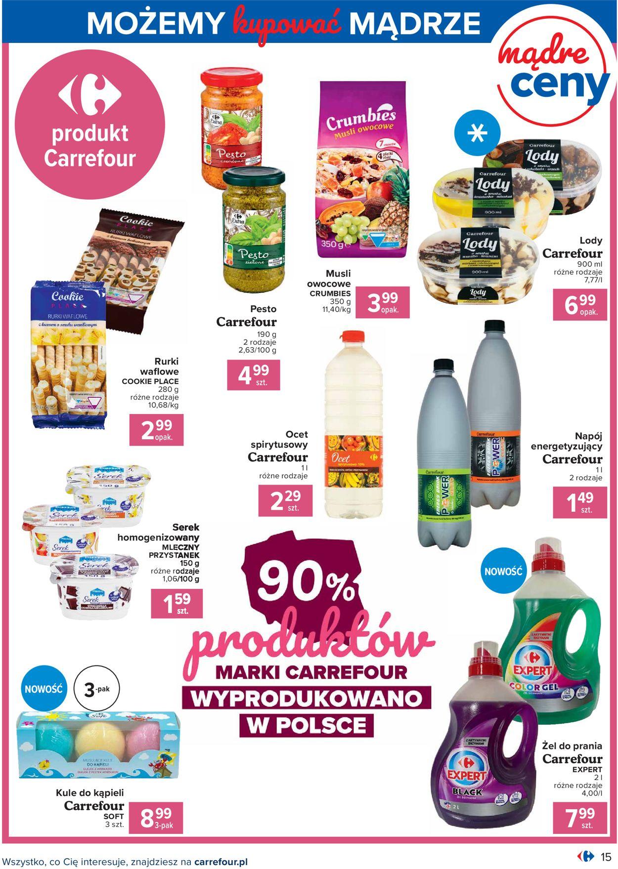Gazetka promocyjna Carrefour - 04.08-14.08.2020 (Strona 15)