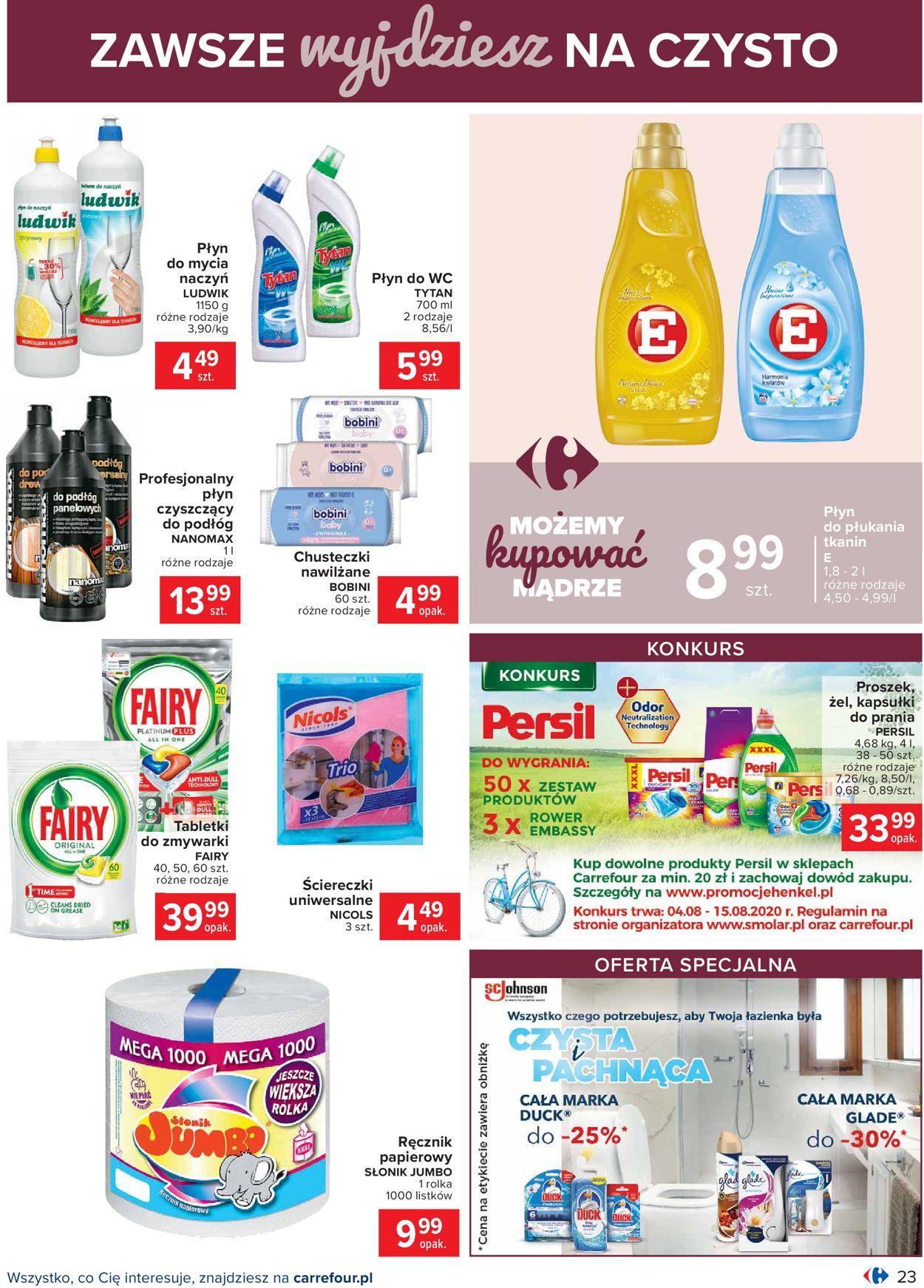 Gazetka promocyjna Carrefour - 04.08-14.08.2020 (Strona 23)