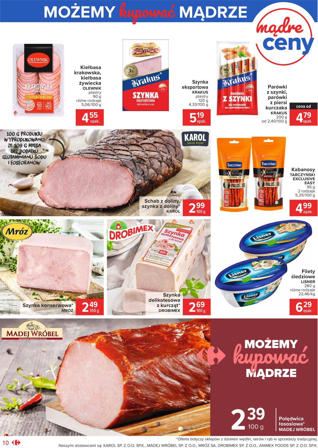 Gazetka promocyjna Carrefour - 04.08-14.08.2020 (Strona 10)