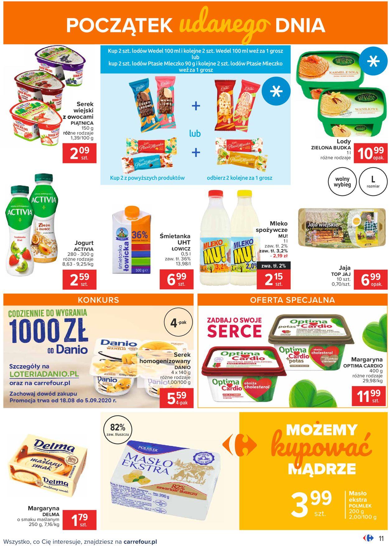 Gazetka promocyjna Carrefour - 18.08-30.08.2020 (Strona 11)