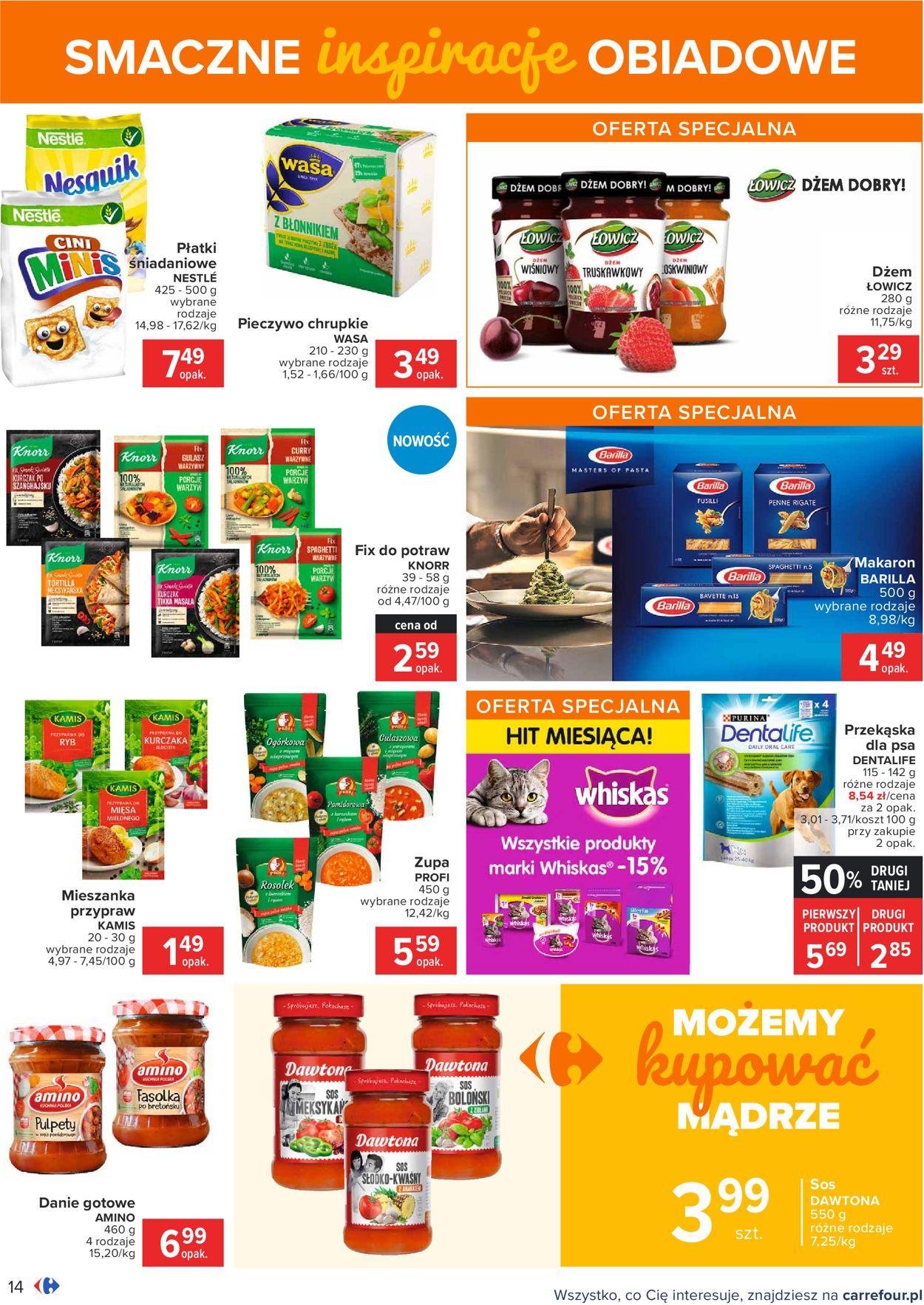 Gazetka promocyjna Carrefour - 18.08-30.08.2020 (Strona 14)