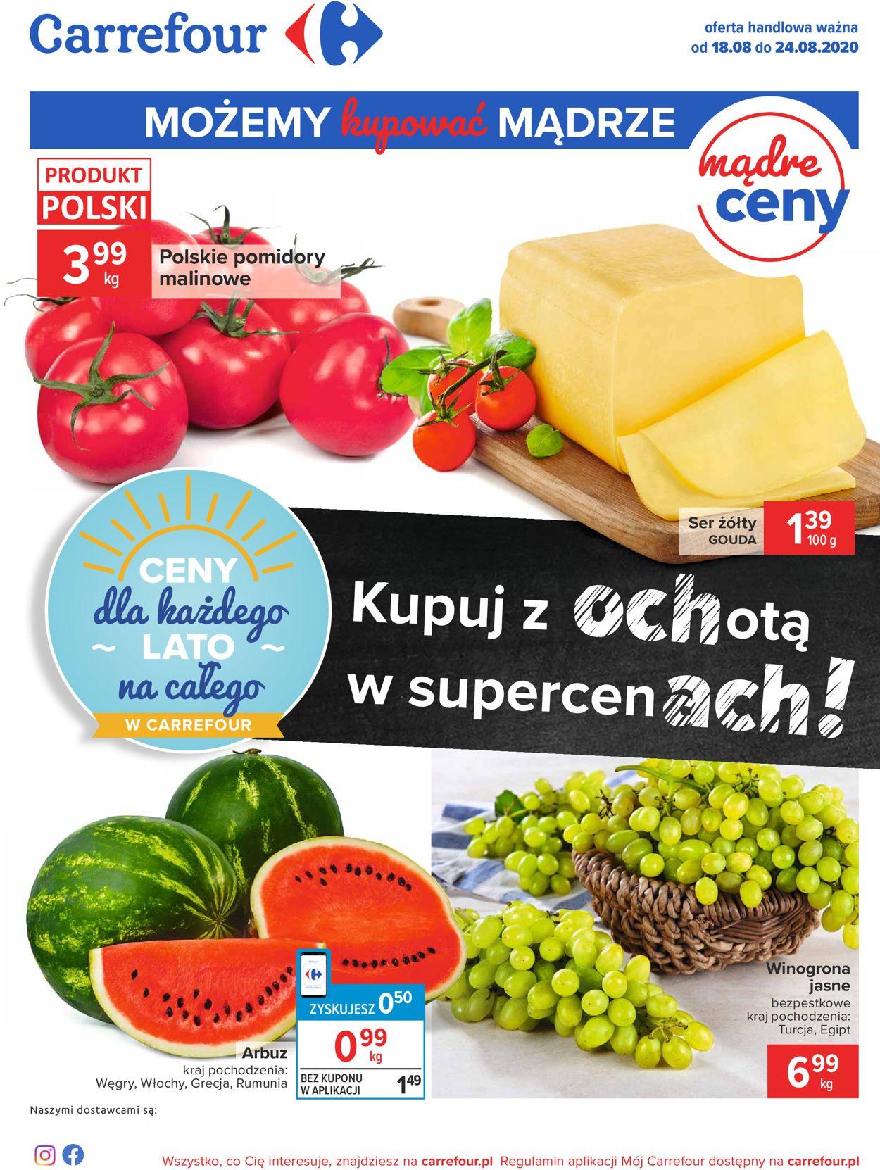 Gazetka promocyjna Carrefour - 18.08-24.08.2020