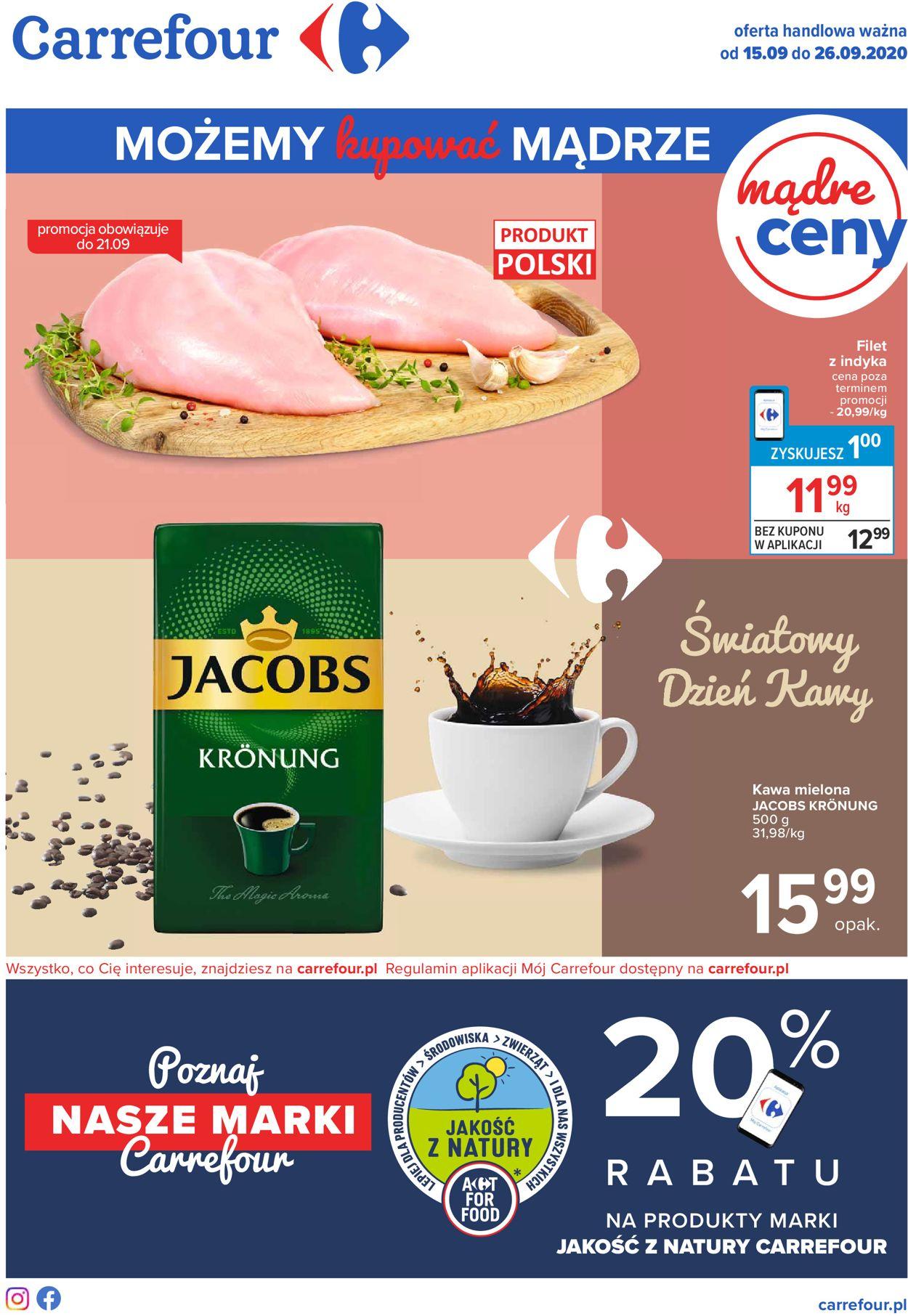Gazetka promocyjna Carrefour - 15.09-26.09.2020